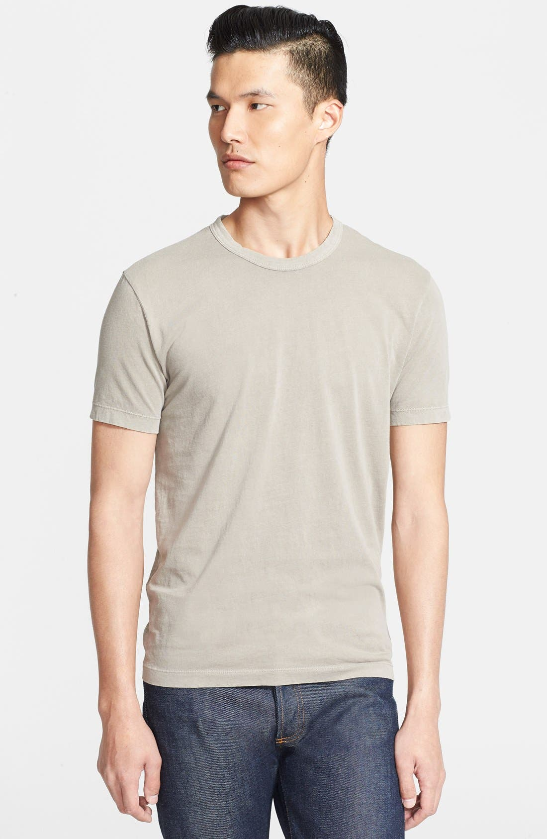 Crewneck Jersey T-Shirt,                             Main thumbnail 50, color,