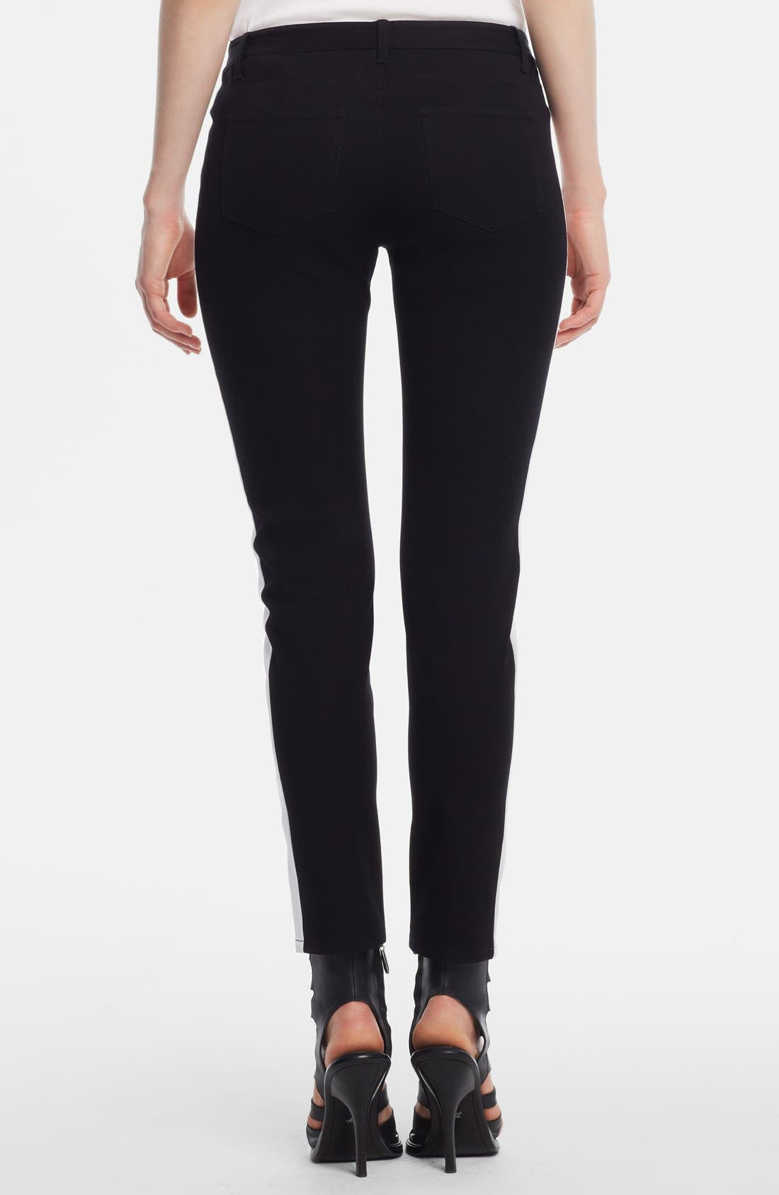 KENNETH COLE NEW YORK,                             'Jane' Colorblock Pants,                             Alternate thumbnail 2, color,                             006