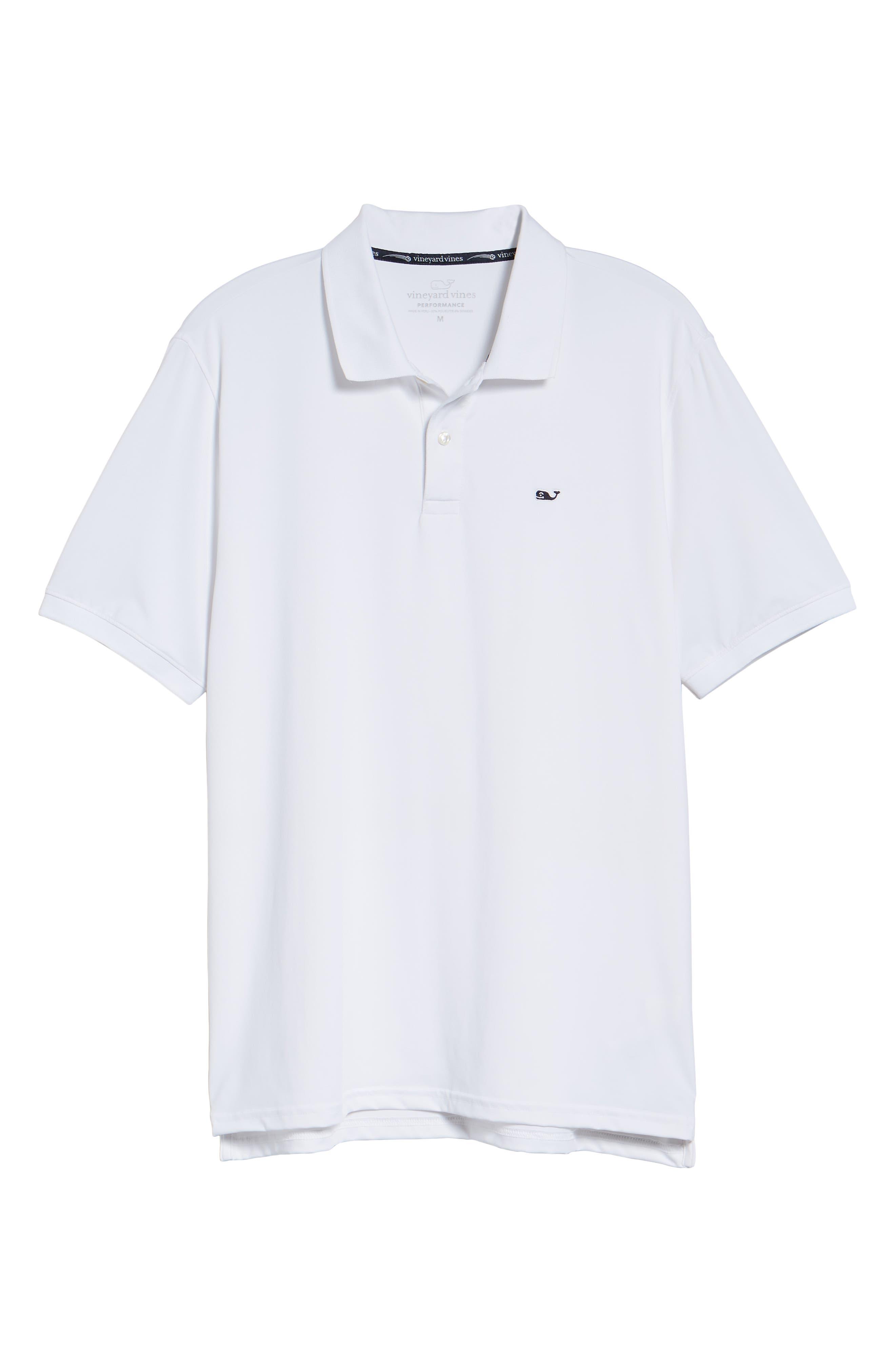 Jersey Polo,                             Alternate thumbnail 6, color,                             WHITE CAP