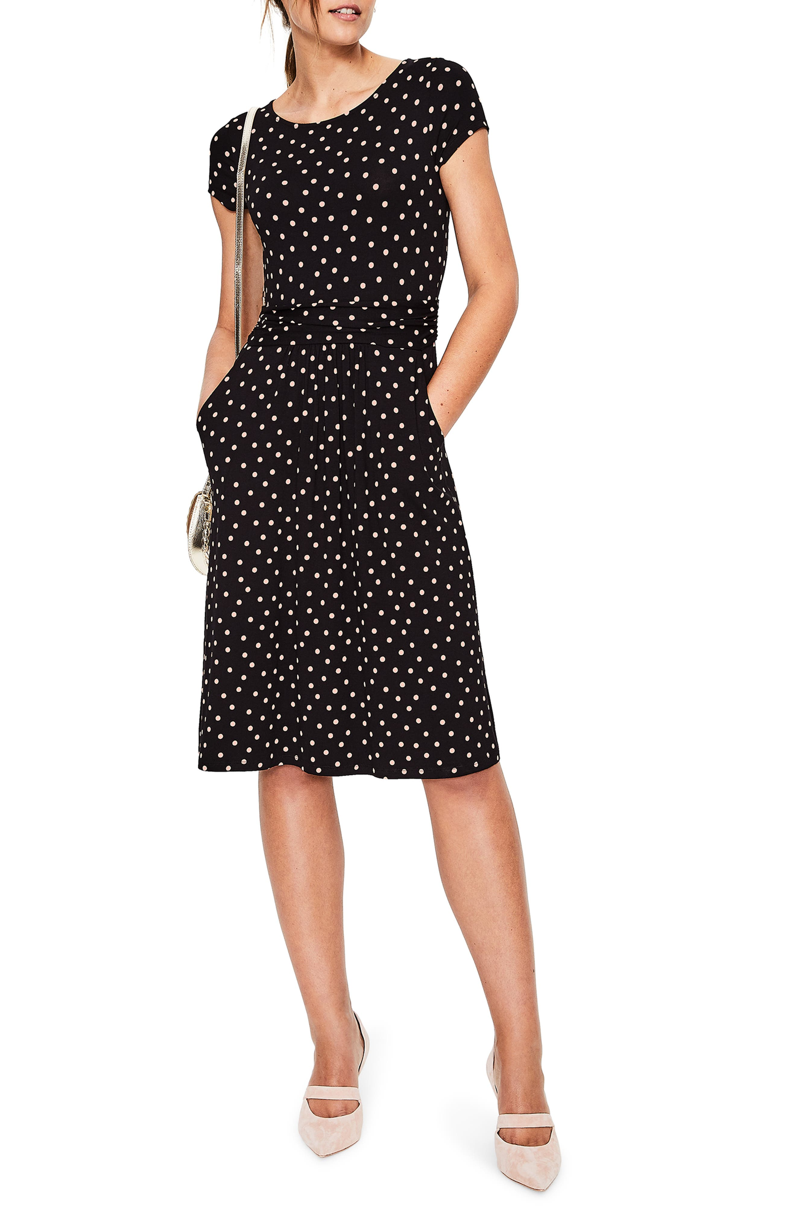 Boden Amelie Print Jersey Dress feb57cc38