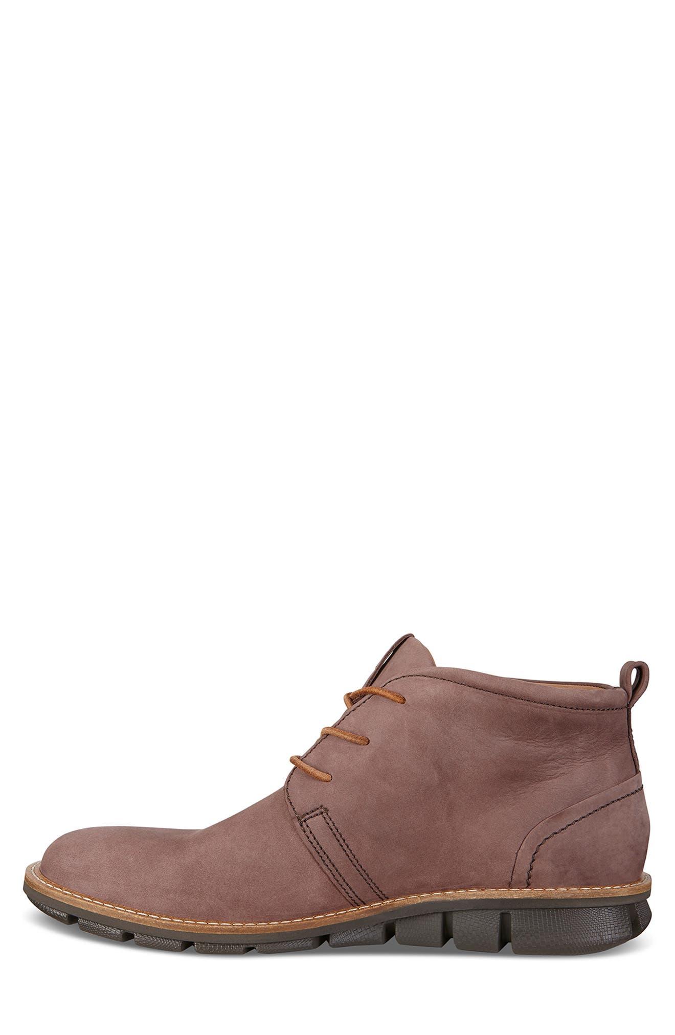 'Jeremy Hybrid' Plain Toe Boot,                             Alternate thumbnail 8, color,                             COFFEE LEATHER