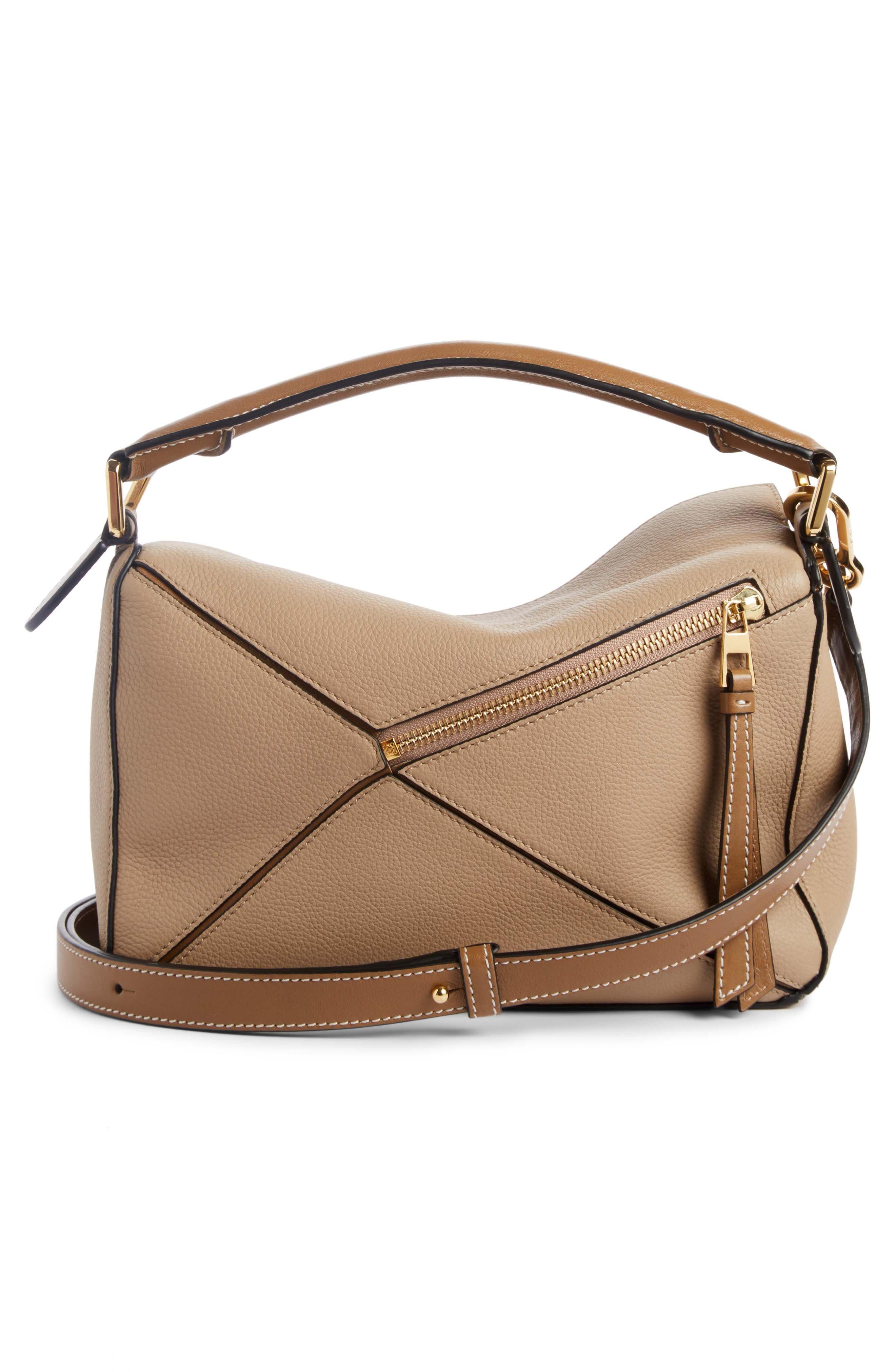 Medium Puzzle Calfskin Leather Shoulder Bag,                             Alternate thumbnail 2, color,                             200