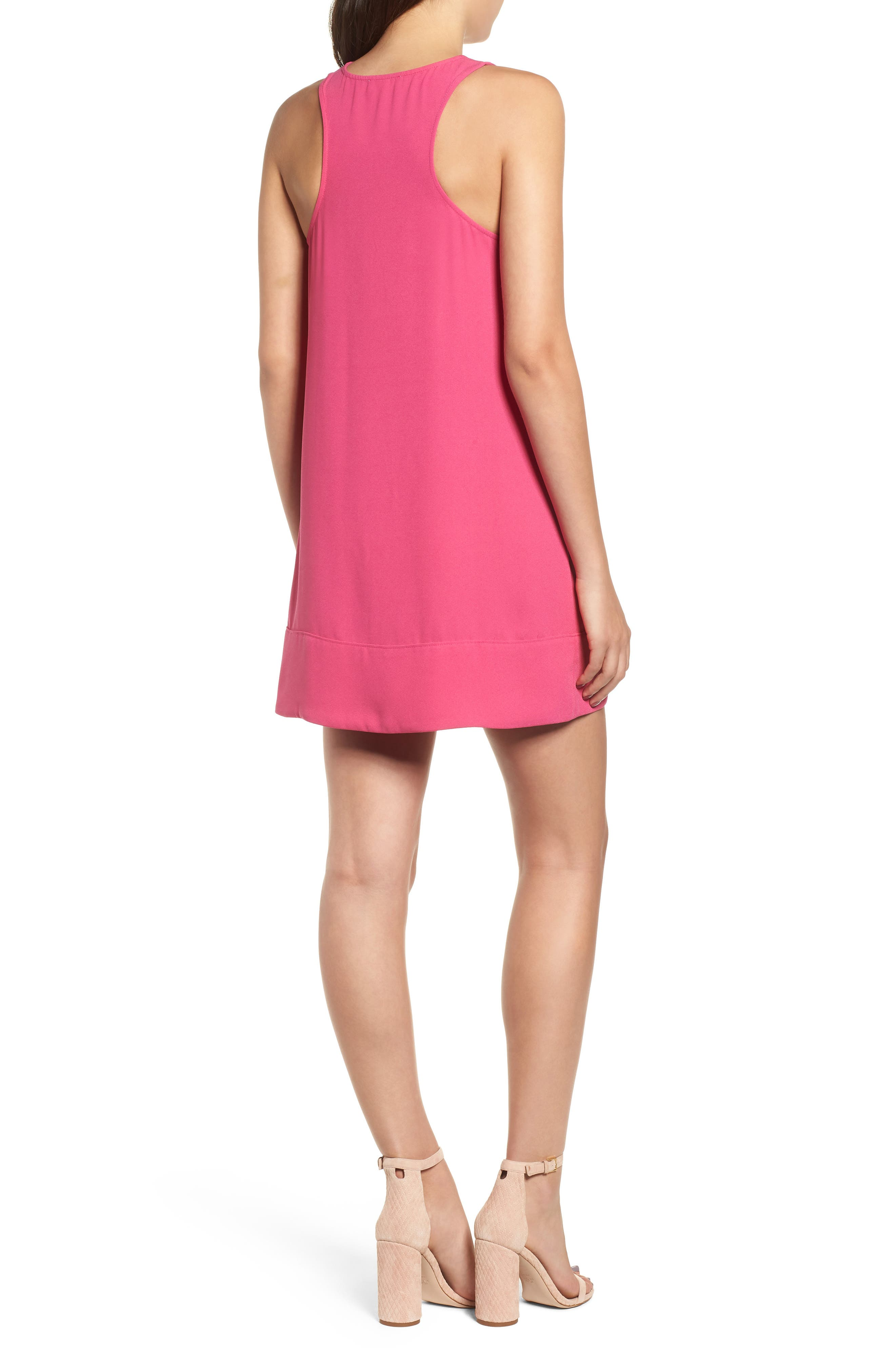 Racerback Shift Dress,                             Alternate thumbnail 62, color,