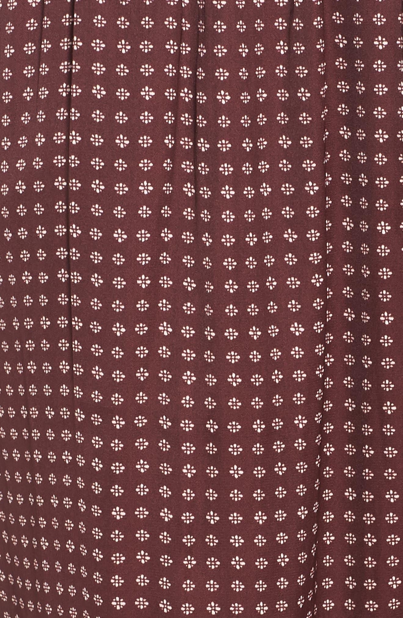 Satin Pajama Pants,                             Alternate thumbnail 6, color,                             610