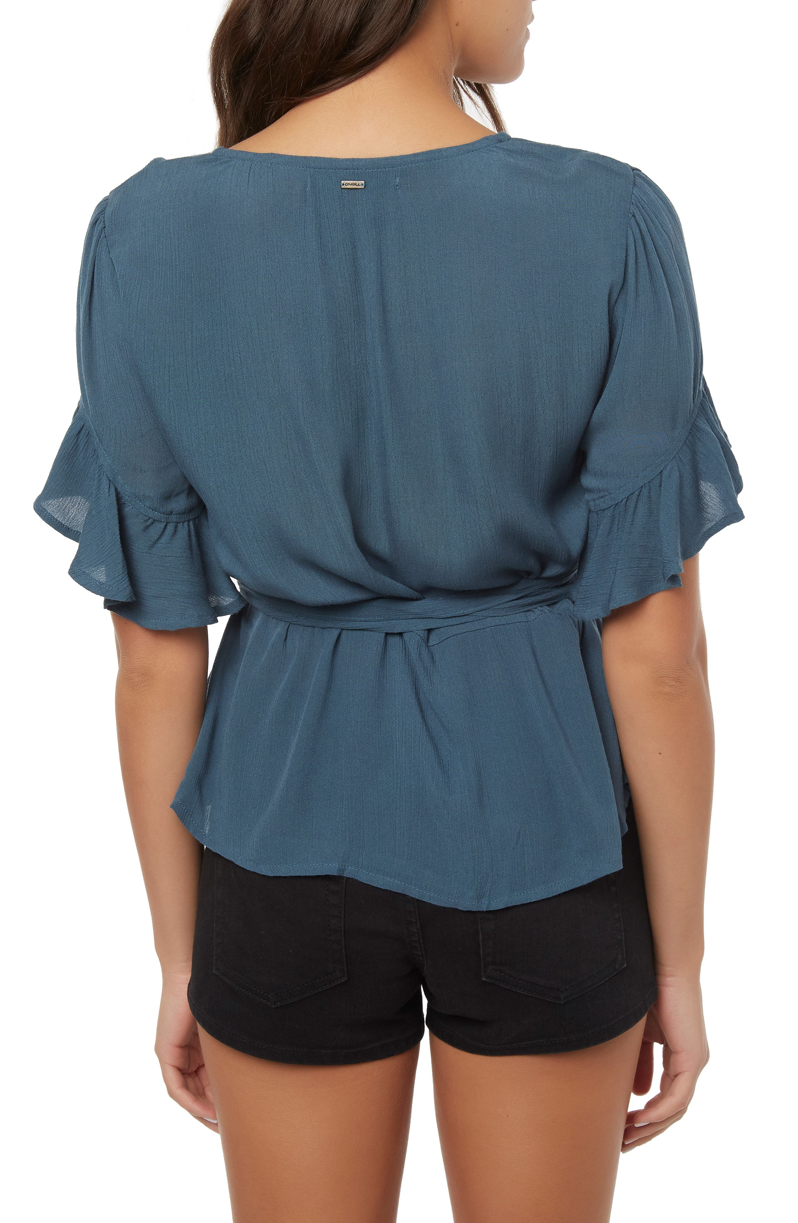 O'NEILL,                             Sarita Wrap Top,                             Alternate thumbnail 2, color,                             STARGAZER