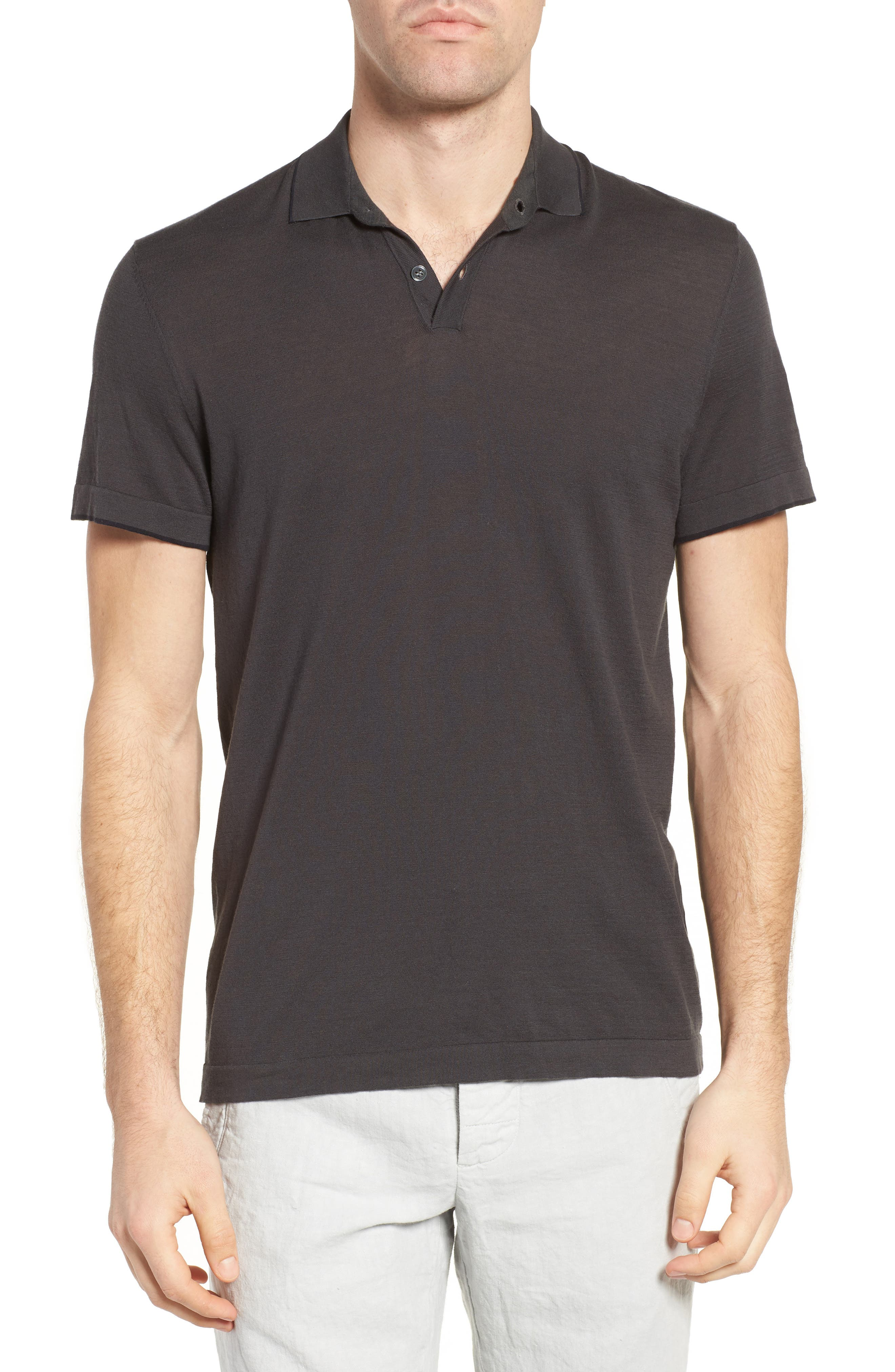 Fine Gauge Tipped Polo,                             Main thumbnail 2, color,