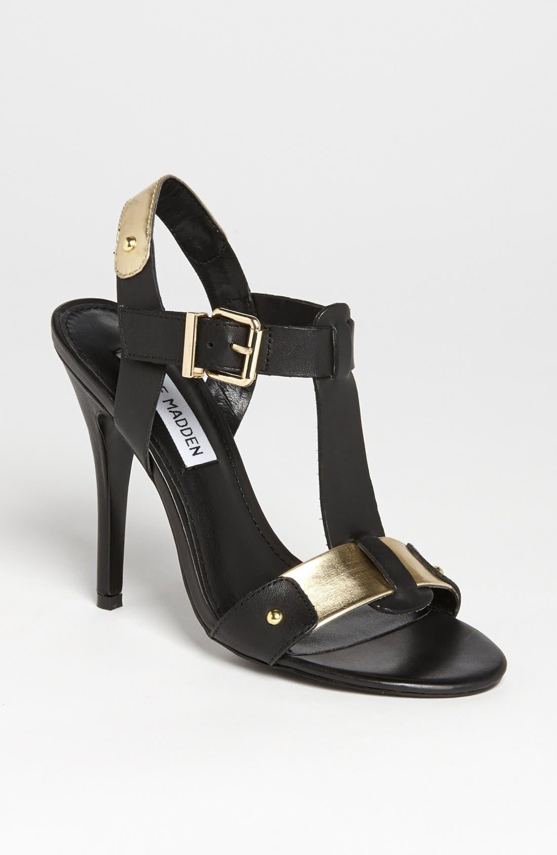 'Reya' Sandal,                         Main,                         color, 001