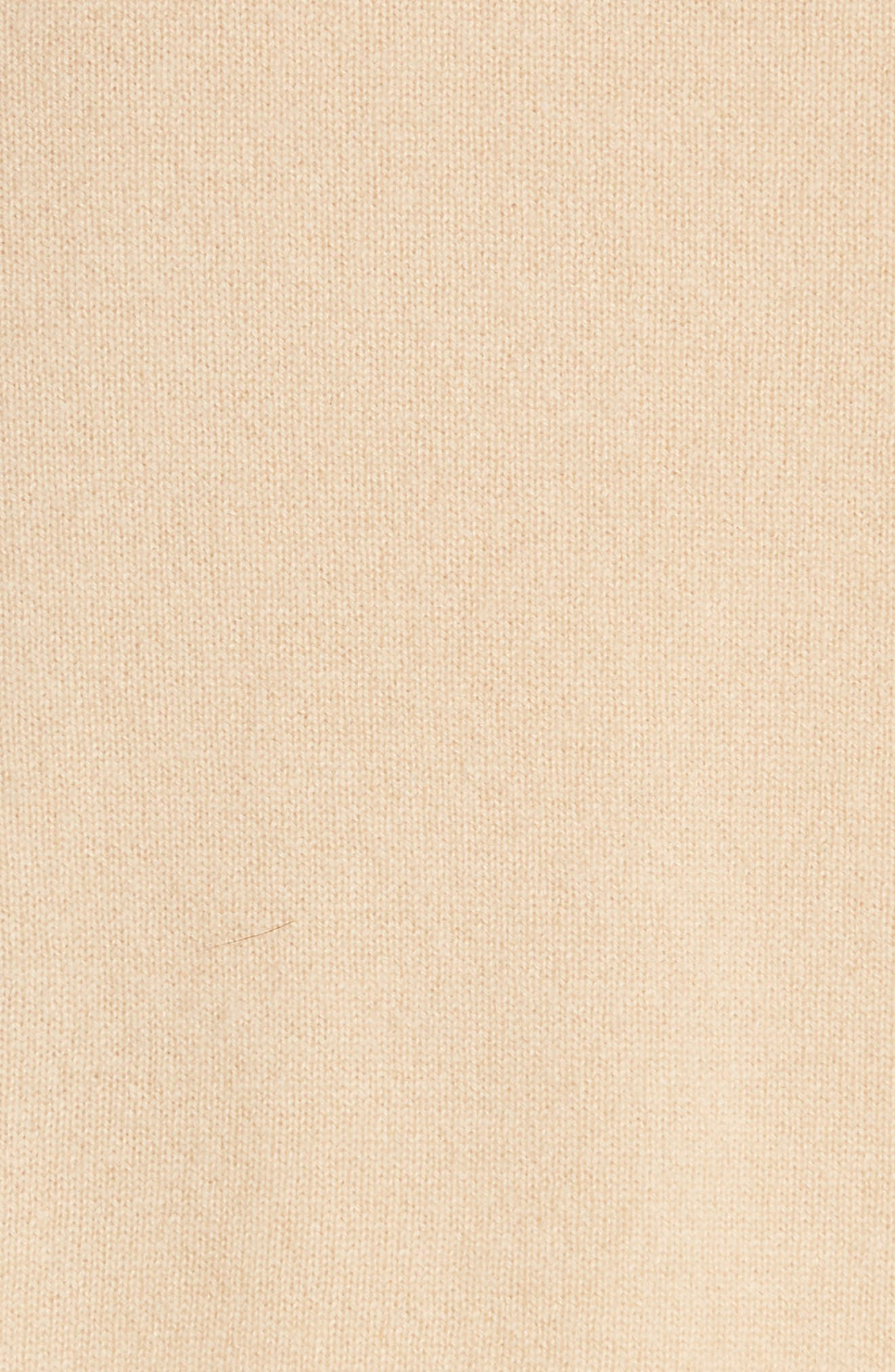 Side Cinch Cashmere Crewneck Sweater,                             Alternate thumbnail 5, color,                             293