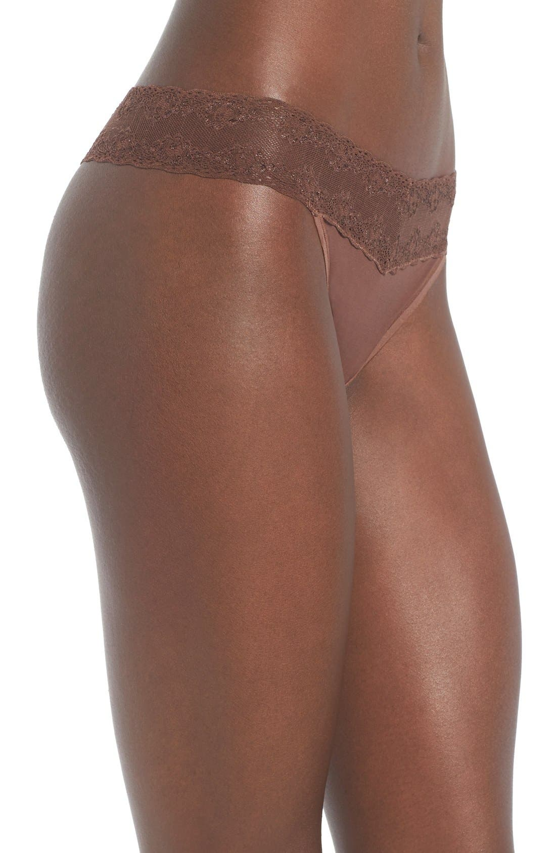 Bliss Perfection Thong,                             Alternate thumbnail 149, color,