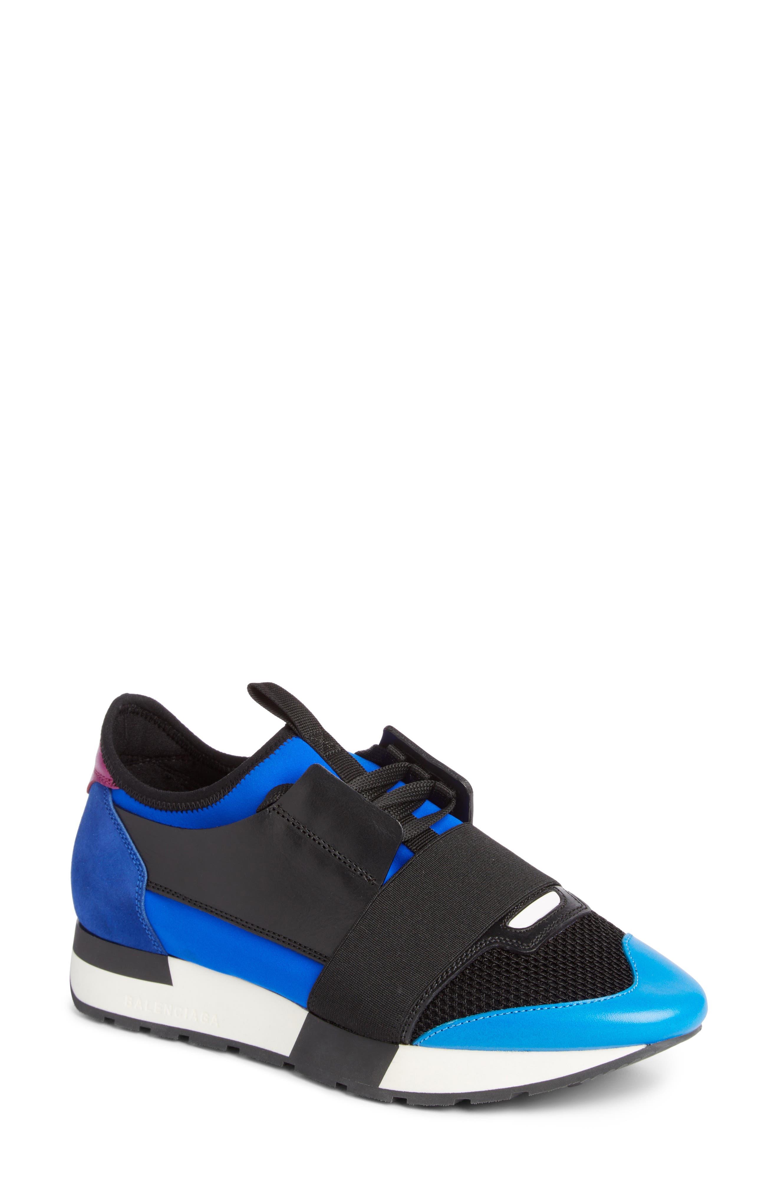 Mixed Media Sneaker,                             Main thumbnail 1, color,                             003