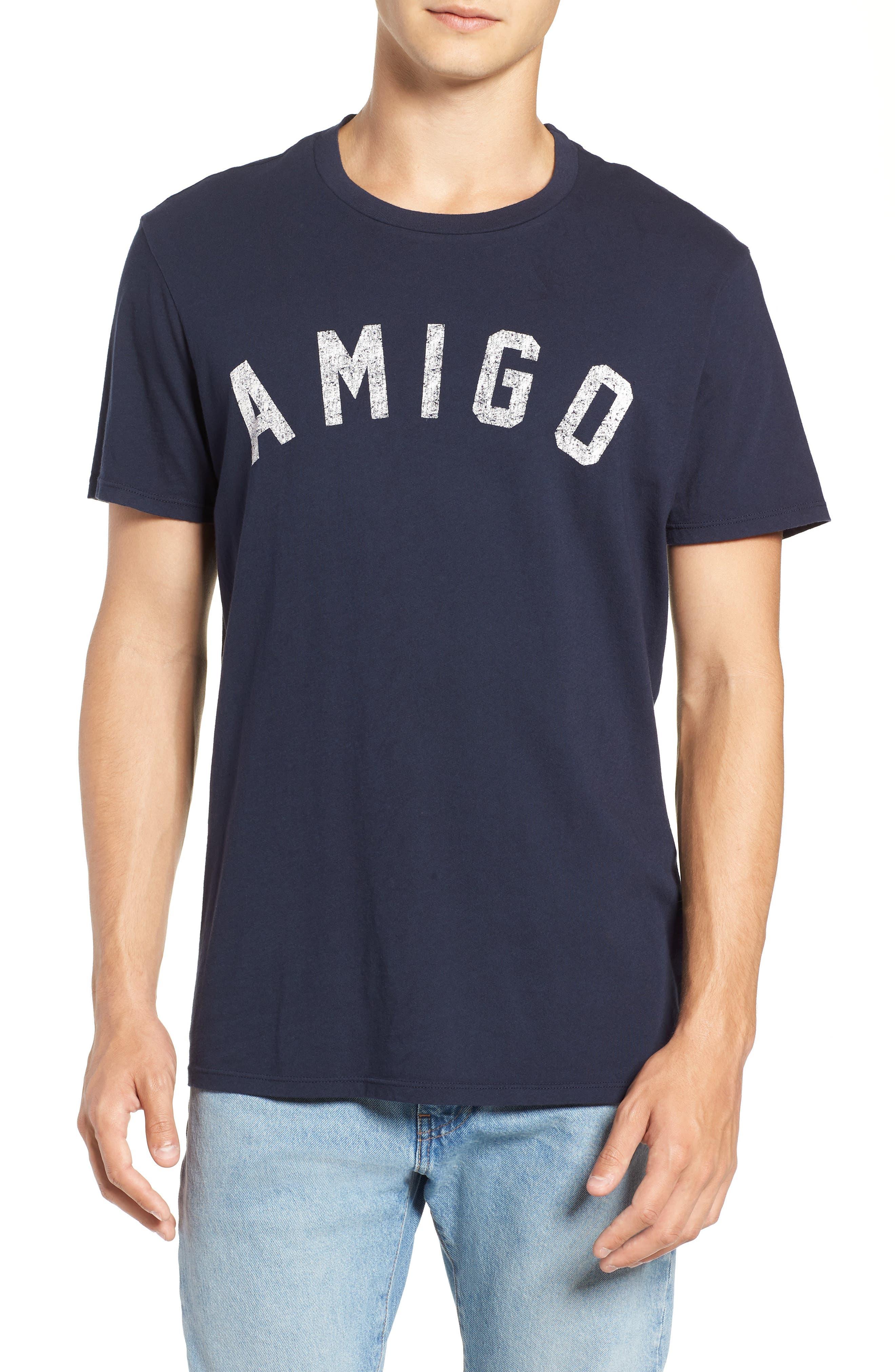 SOL ANGELES Men'S Amigo Graphic T-Shirt in Indigo