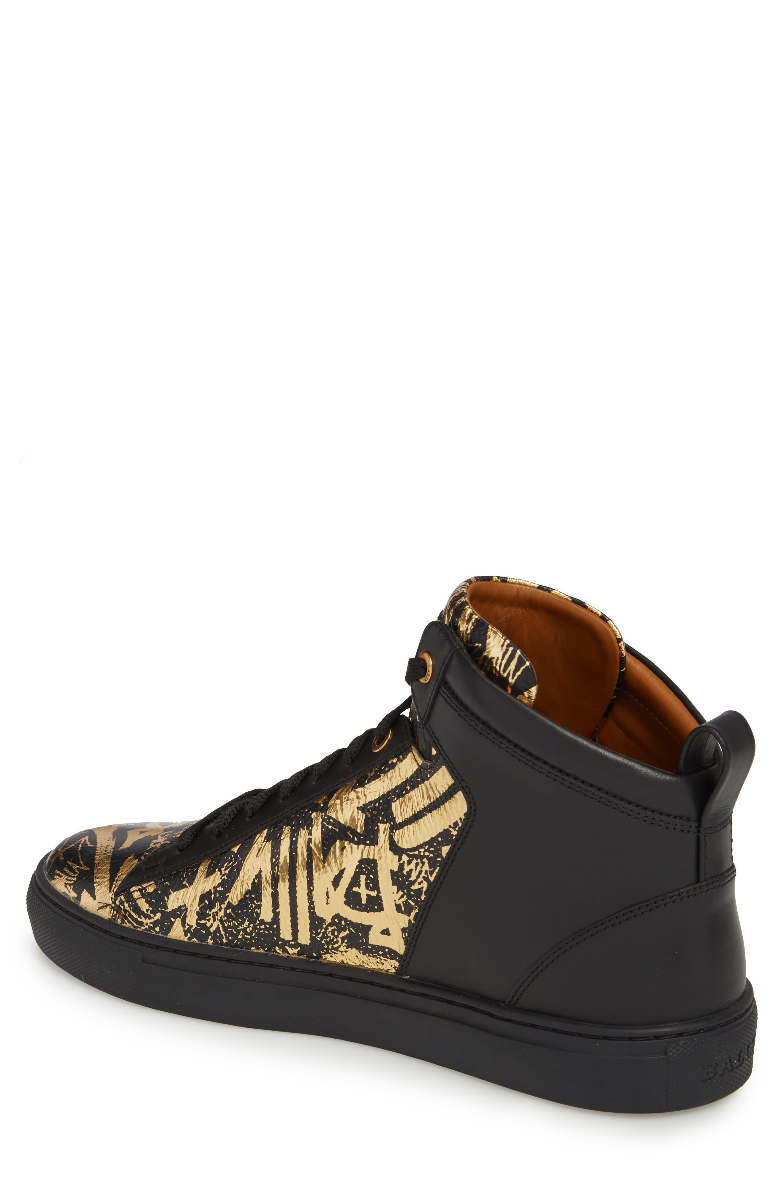 Hedo High Top Sneaker,                             Alternate thumbnail 2, color,                             GOLD