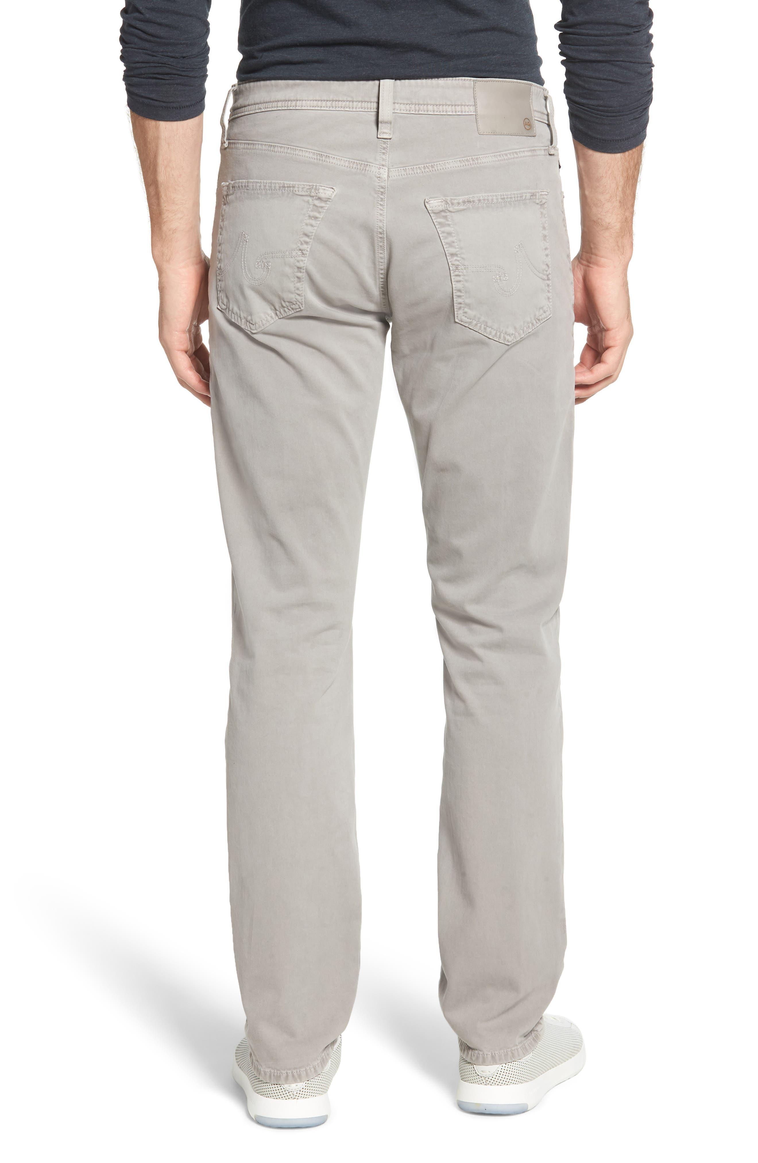 Everett SUD Slim Straight Fit Pants,                             Alternate thumbnail 2, color,                             SULFUR PLATINUM