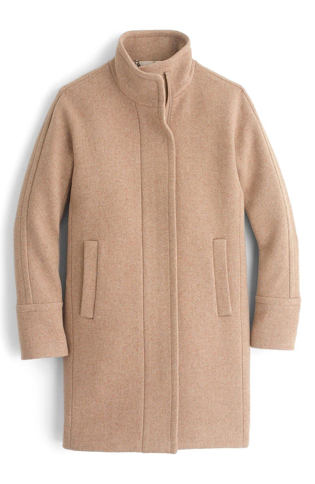 Stadium Cloth Cocoon Coat,                             Alternate thumbnail 45, color,