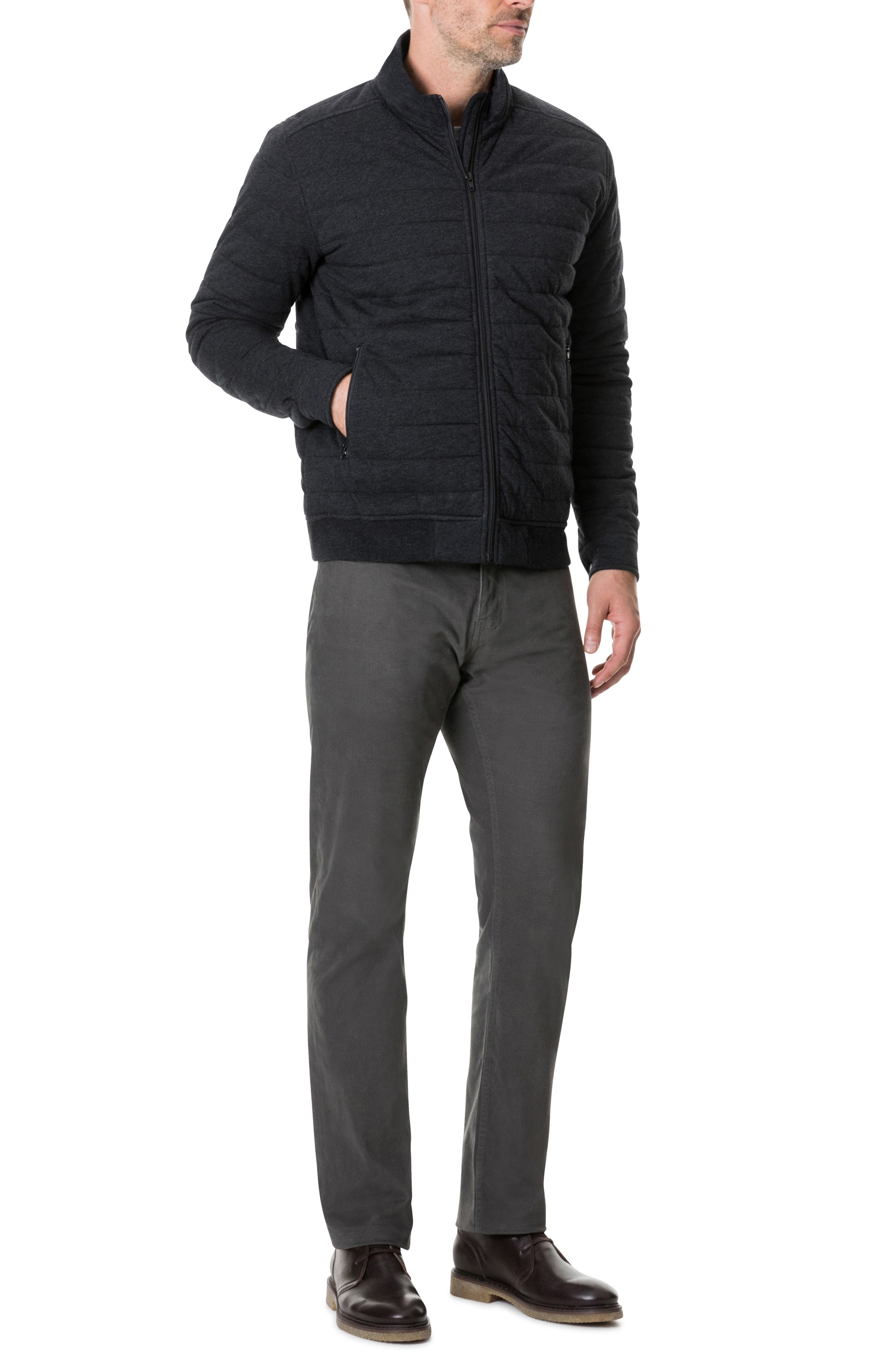 Birch Hill Regular Fit Jacket,                             Alternate thumbnail 4, color,                             CHARCOAL