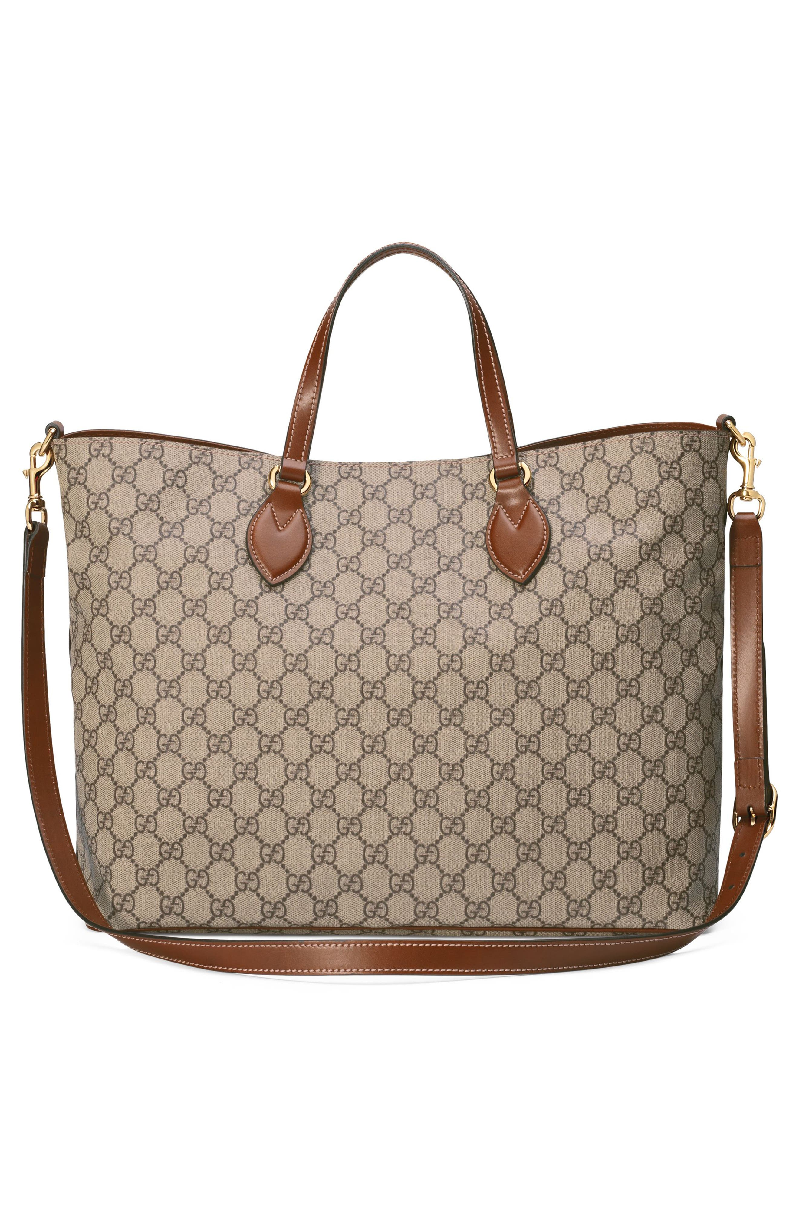 GG Supreme Soft Canvas Tote,                             Alternate thumbnail 2, color,                             283
