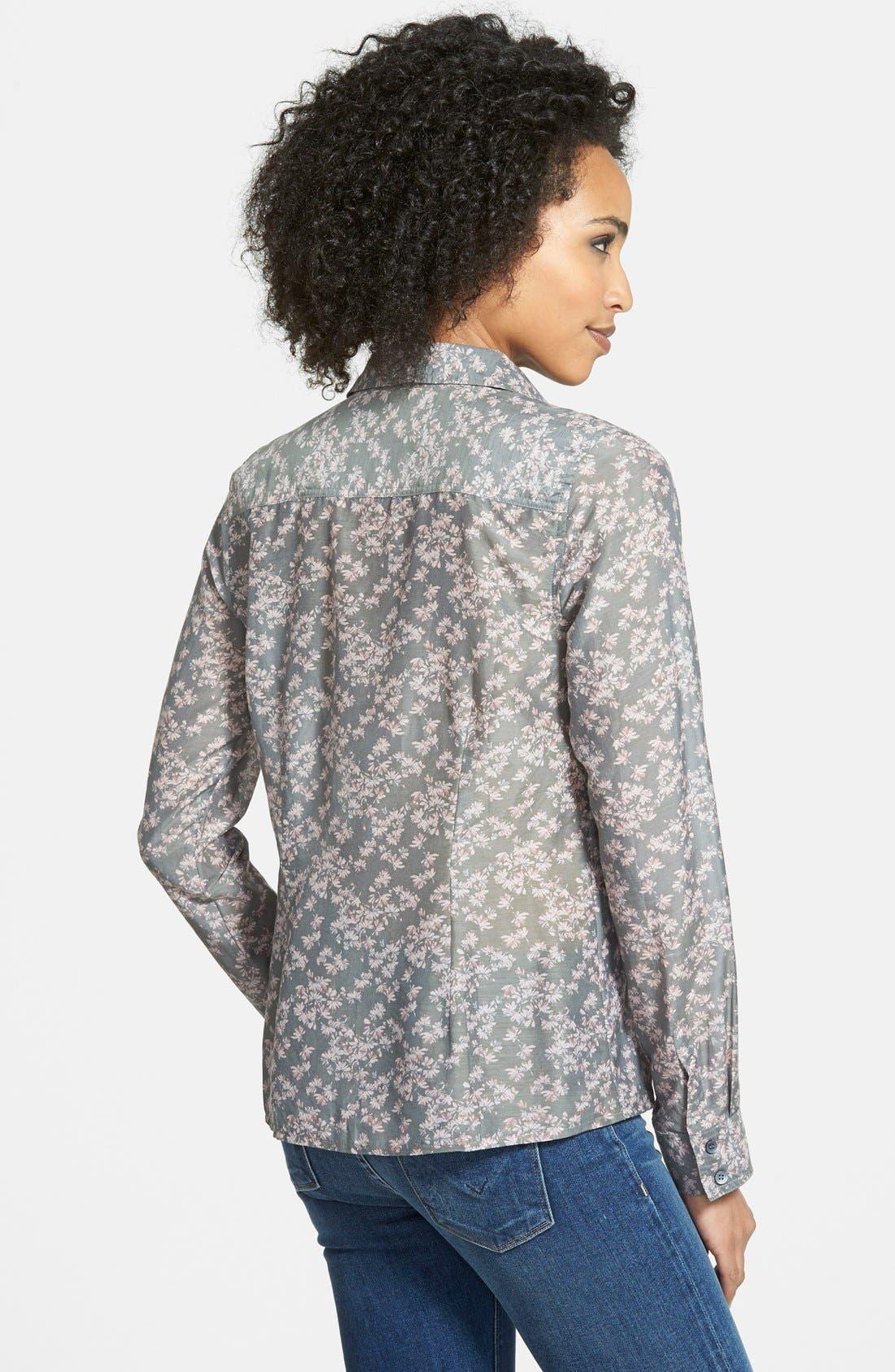 Cotton & Silk Shirt,                             Alternate thumbnail 180, color,