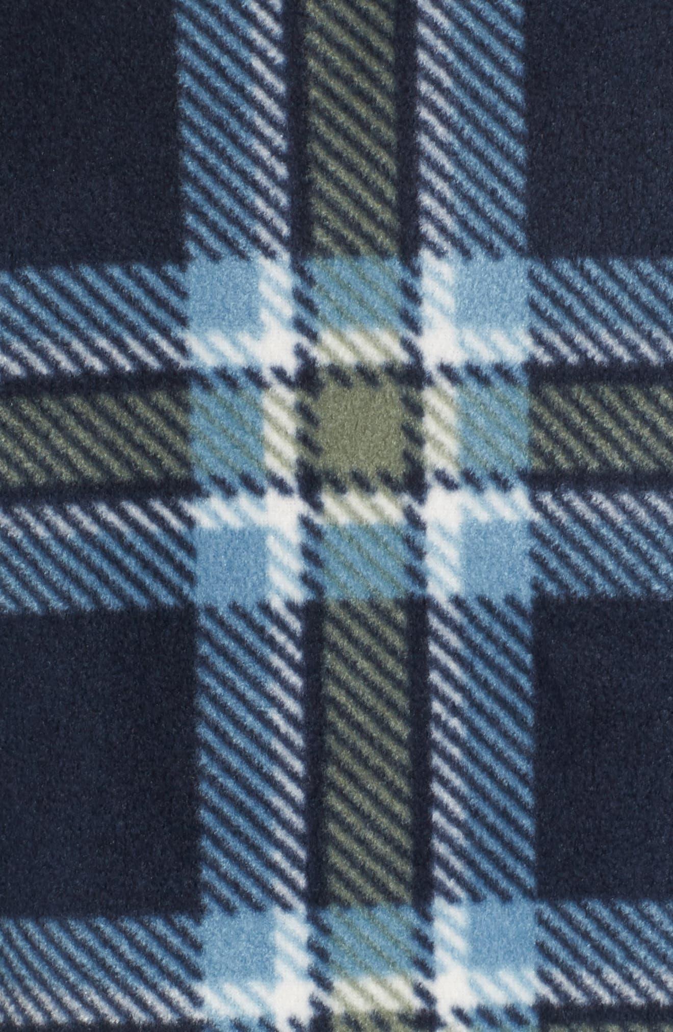 Glacier Heat Dome Plaid Fleece Shirt,                             Alternate thumbnail 10, color,