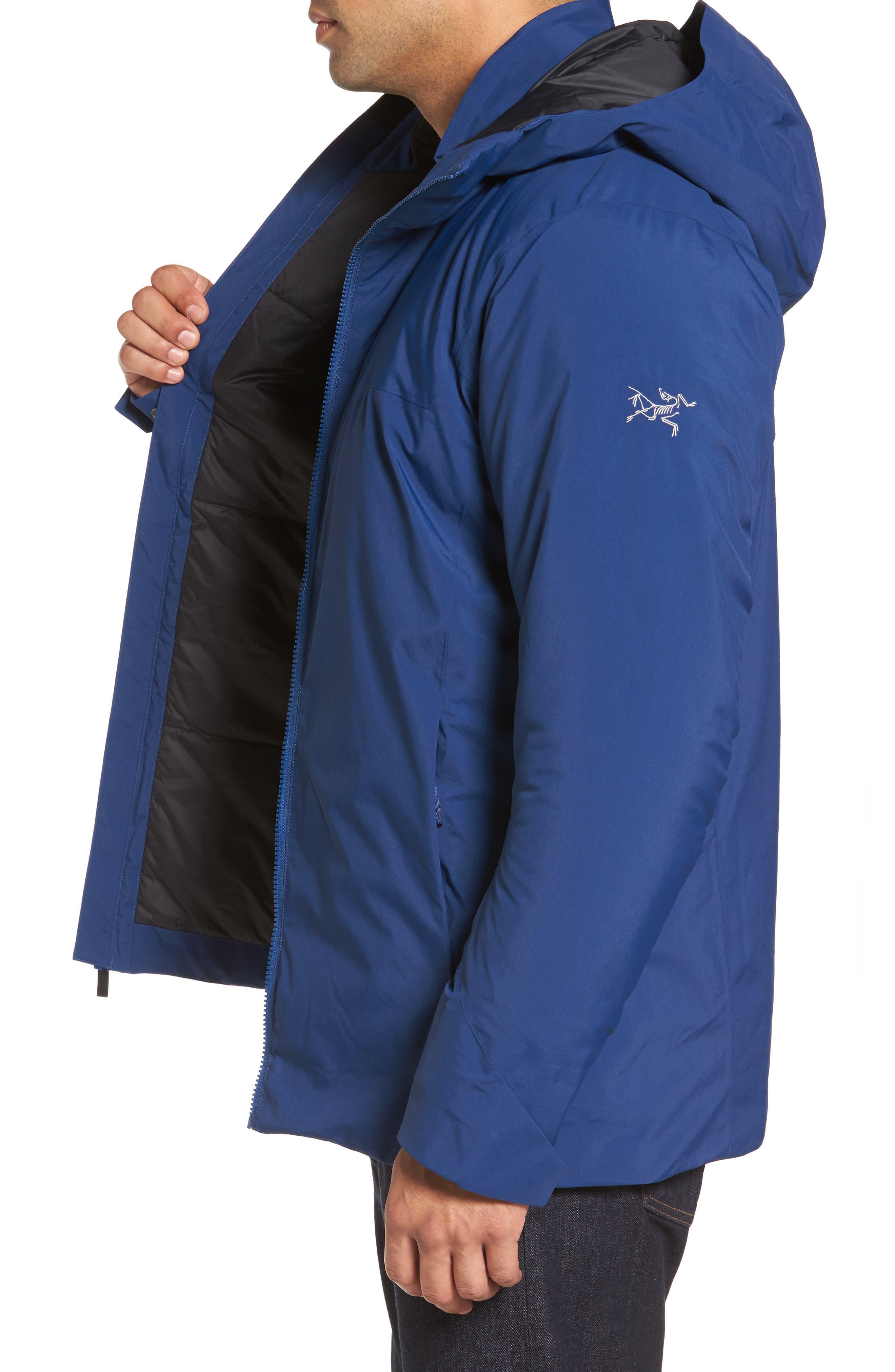 'Koda' Hooded Waterproof Shell Jacket,                             Alternate thumbnail 3, color,                             400