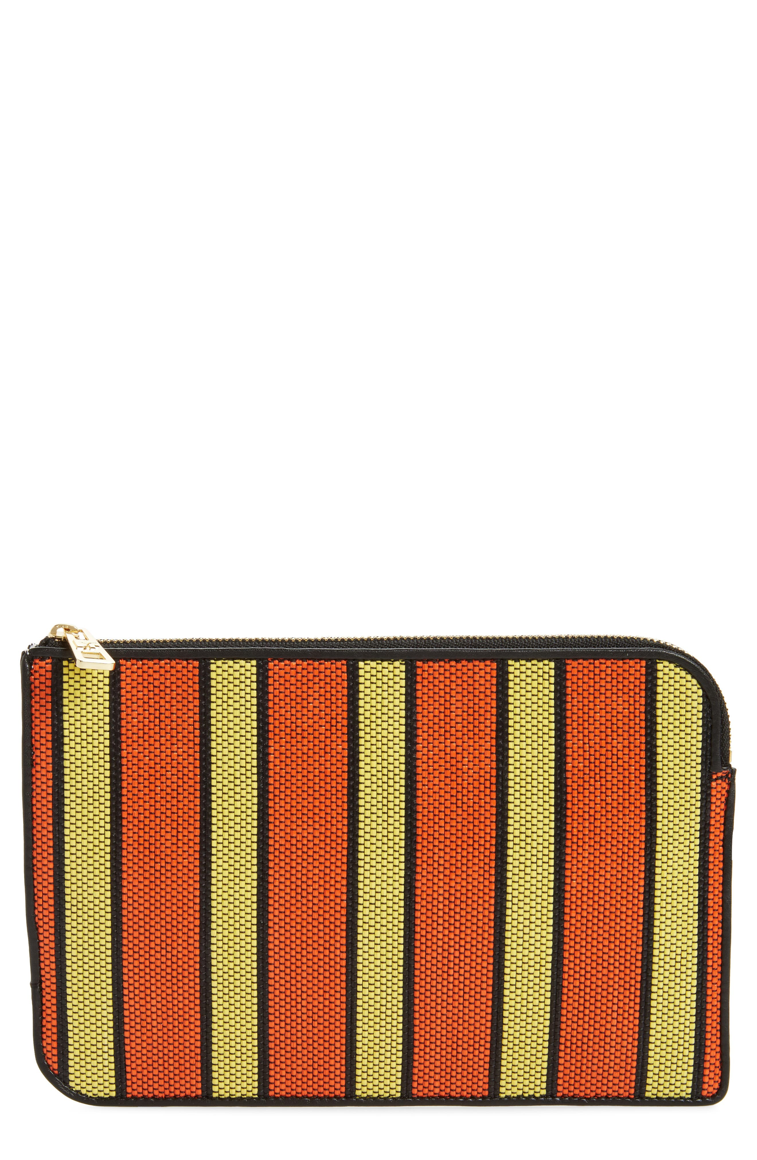 Medium Zip Pouch,                         Main,                         color, 800