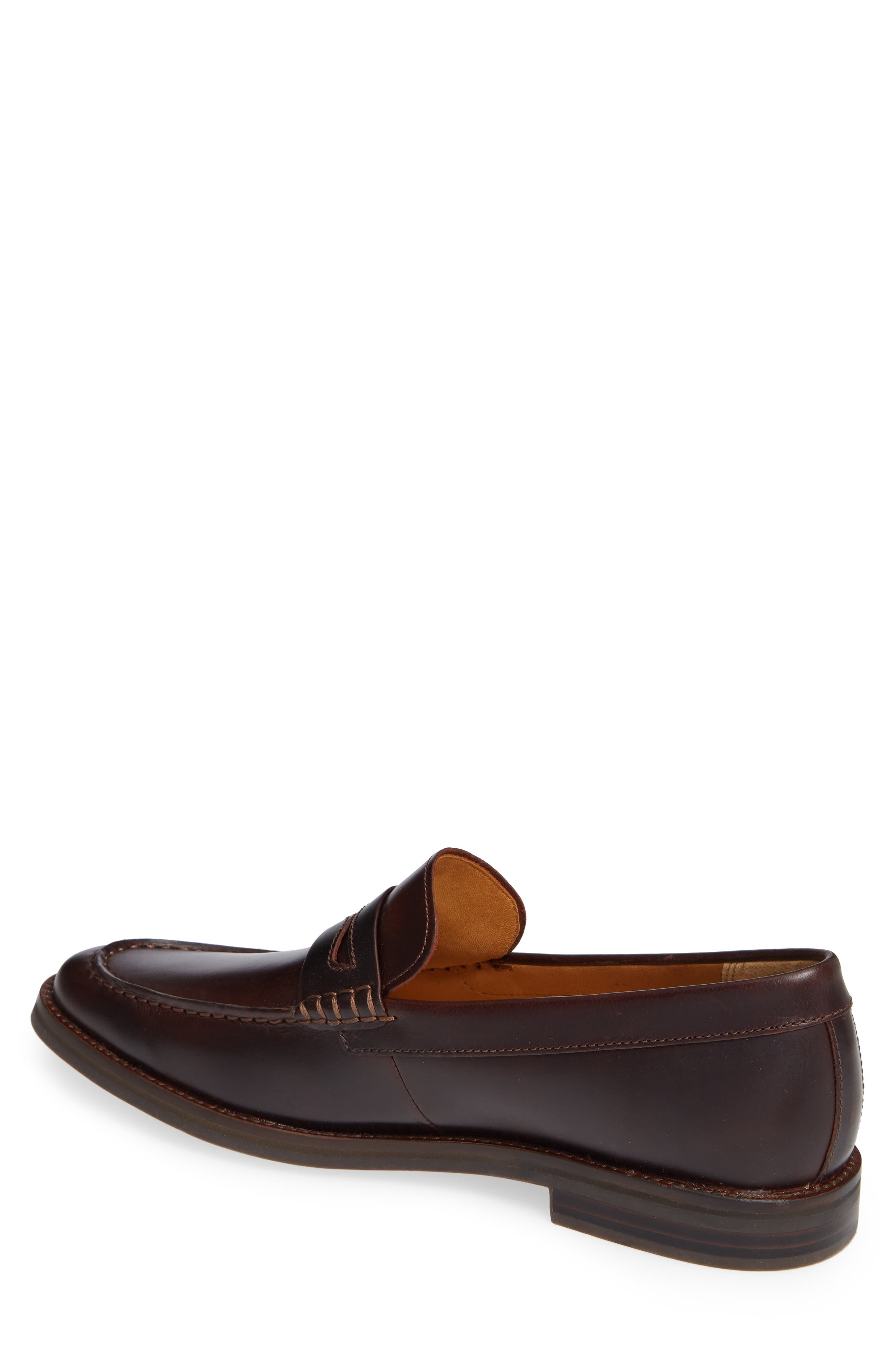 Gold Cup Exeter Penny Loafer,                             Alternate thumbnail 2, color,                             AMARETTO