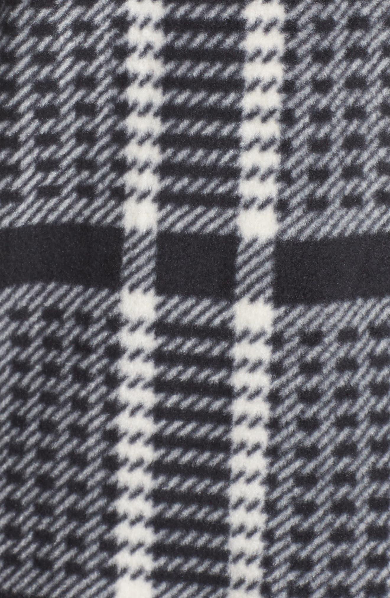Stretch Fleece Long Pajamas,                             Alternate thumbnail 5, color,                             005