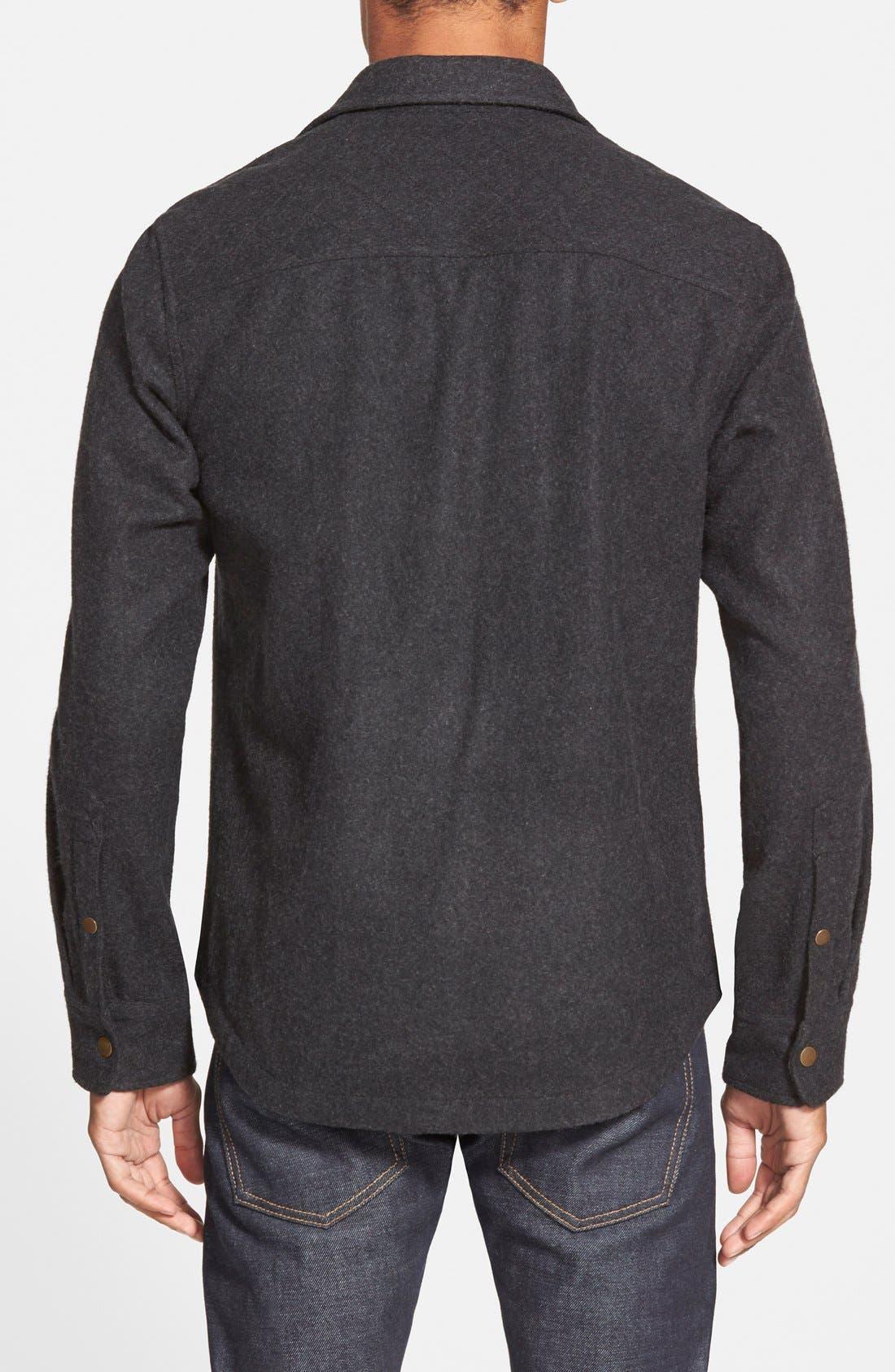 'CPO' Shirt Jacket,                             Alternate thumbnail 4, color,                             001