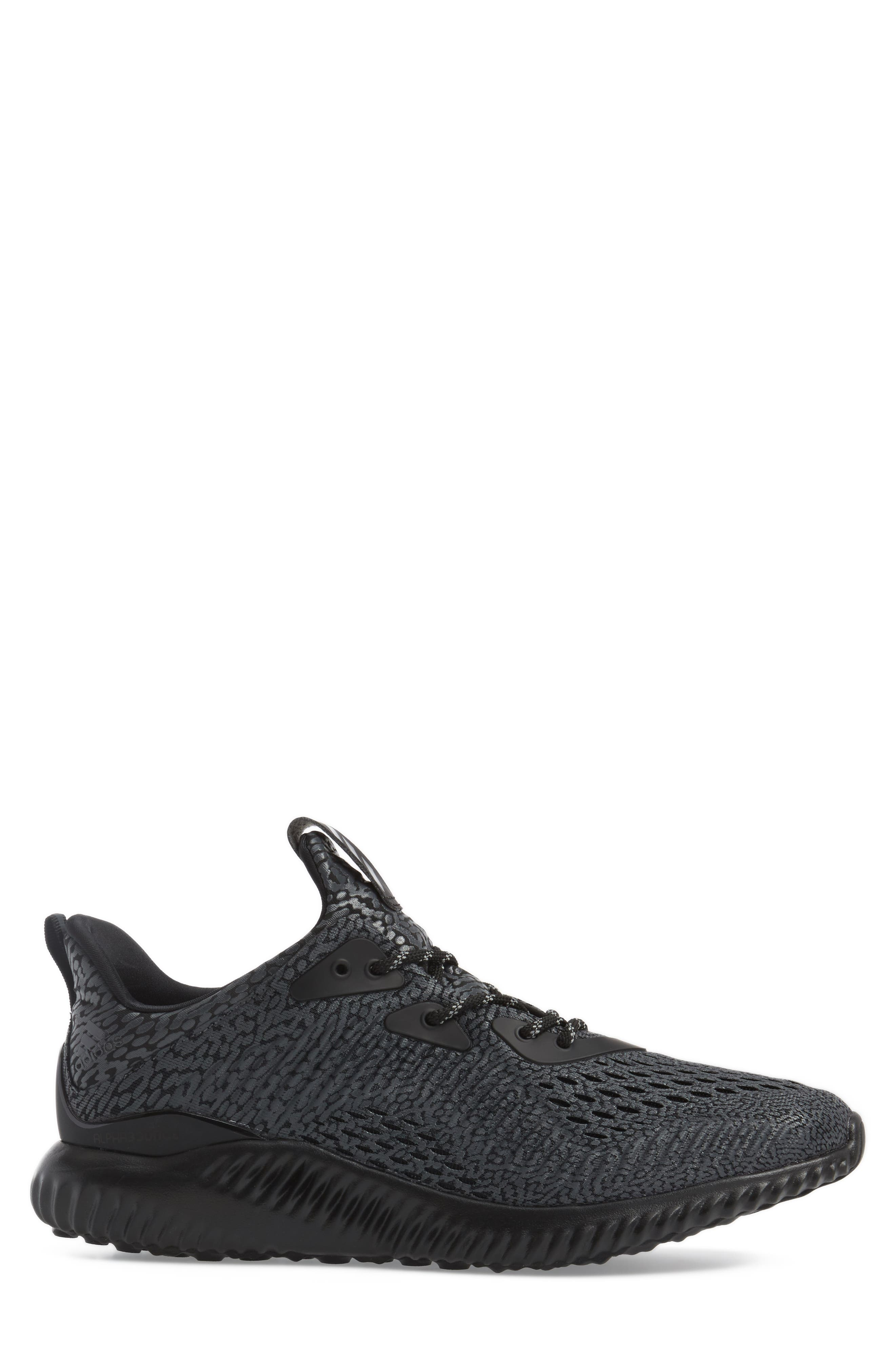 AlphaBounce Aramis Sneaker,                             Alternate thumbnail 3, color,                             001