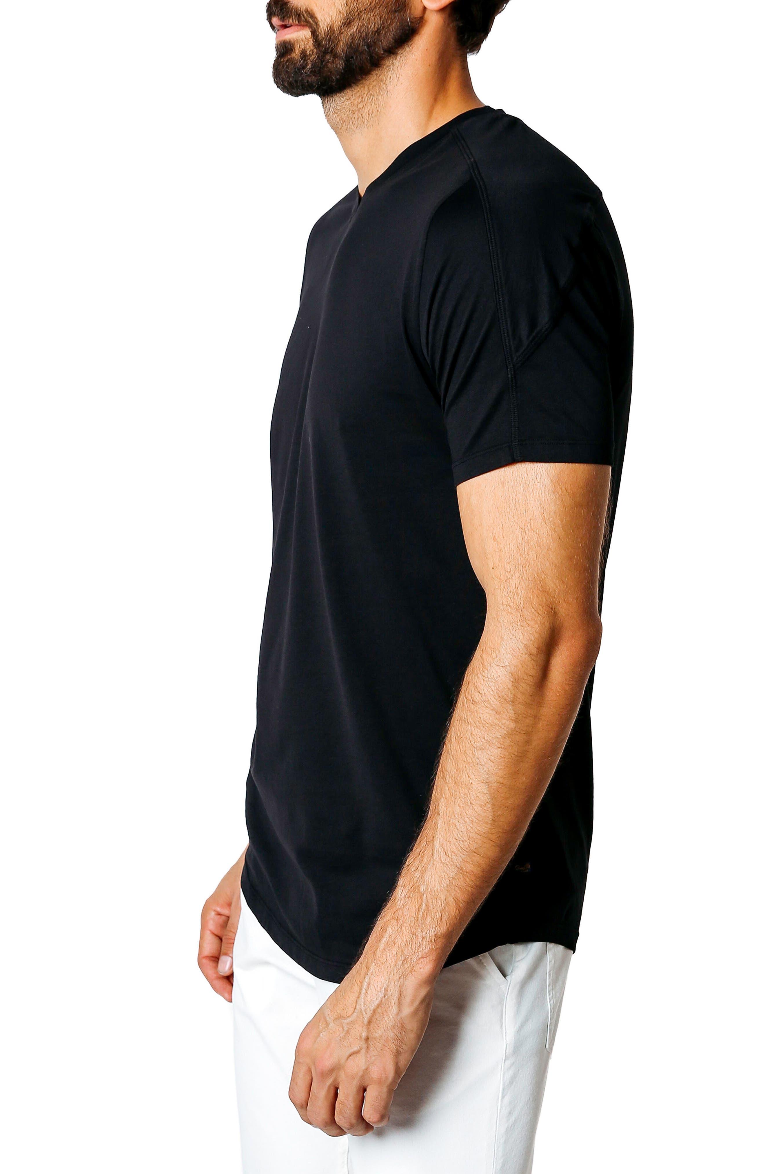 Hi Vee Slim Fit T-Shirt,                             Alternate thumbnail 3, color,                             001