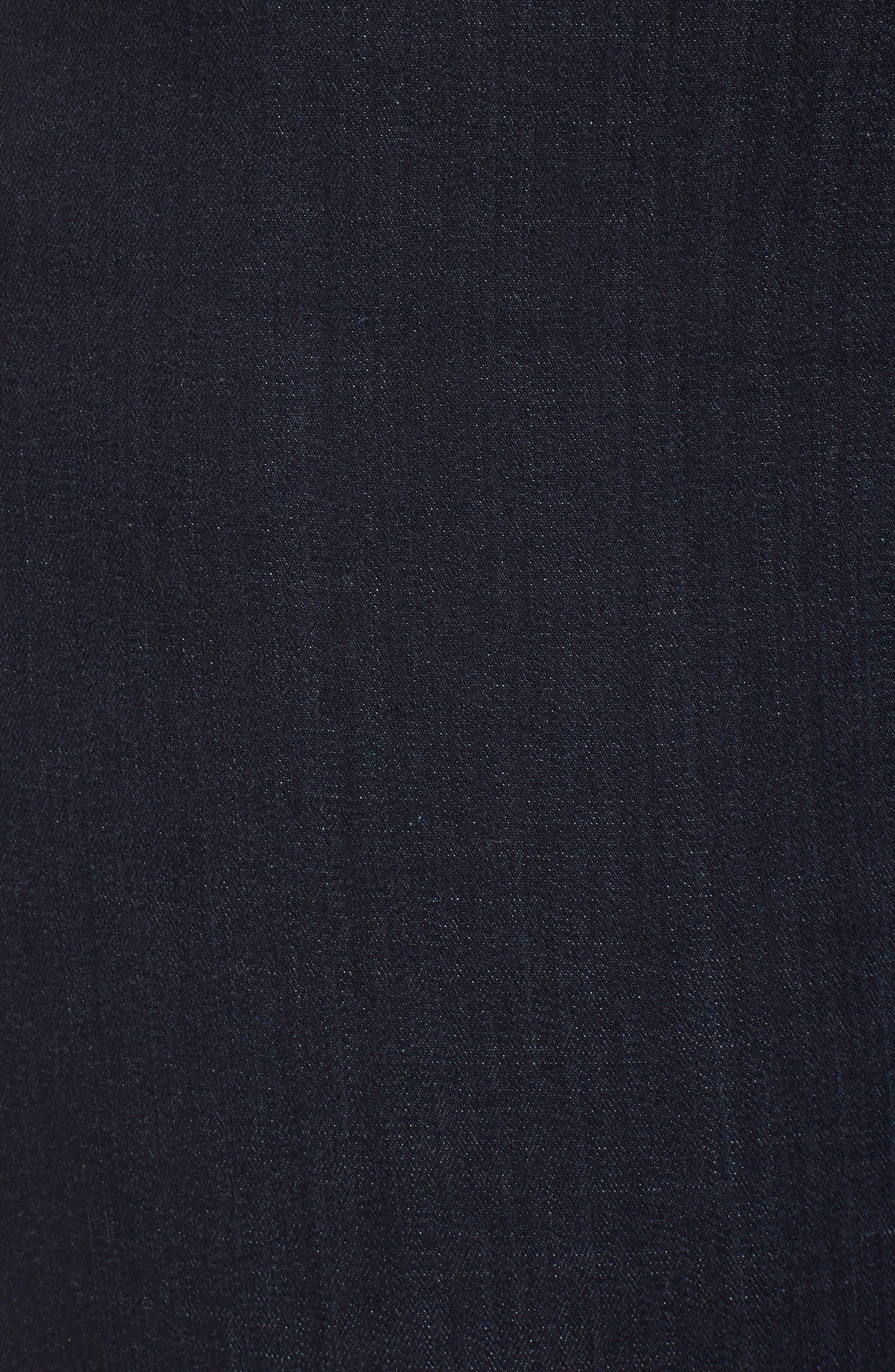 Stretch Skinny Jeans,                             Alternate thumbnail 6, color,                             DARK RINSE