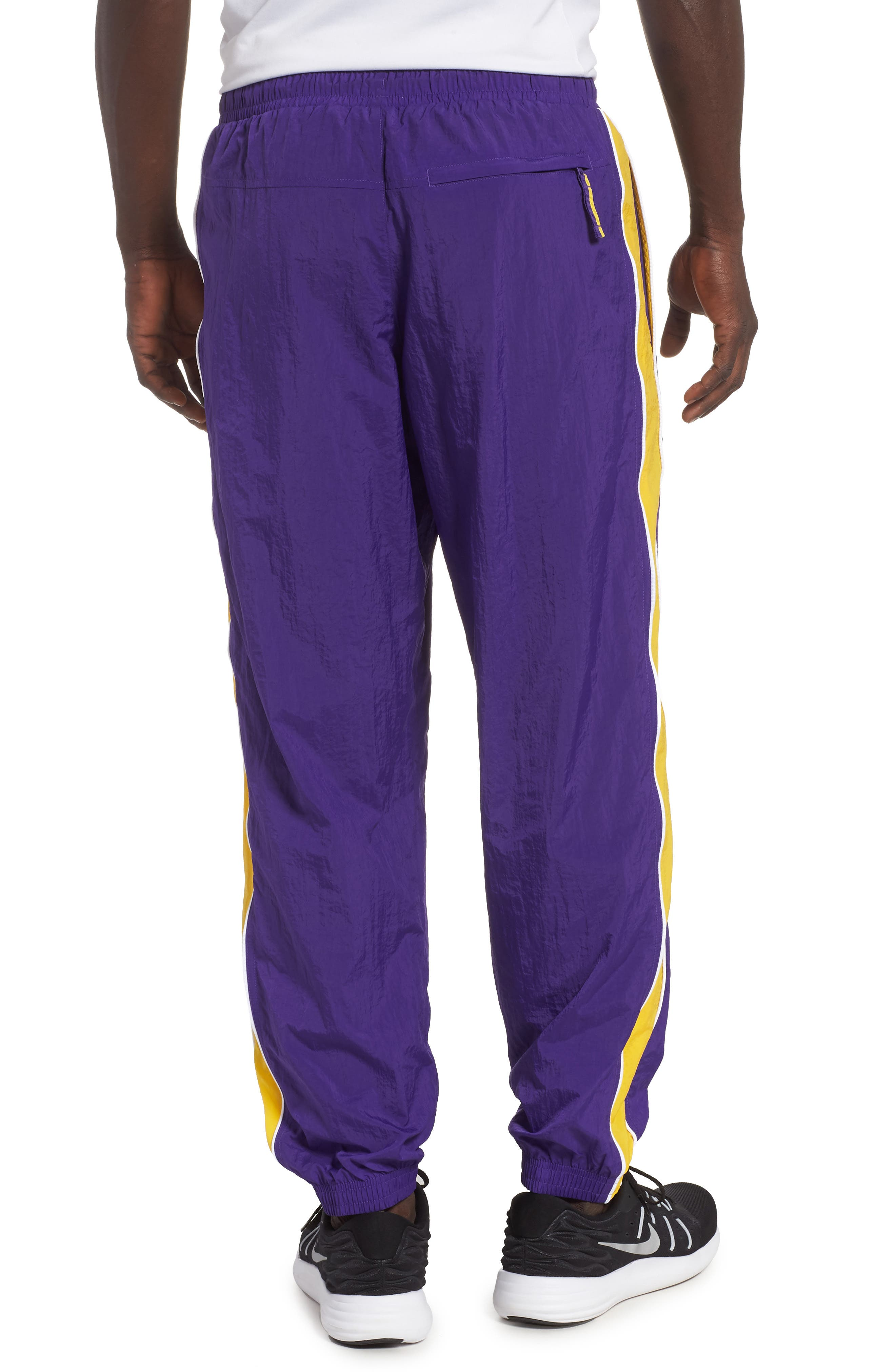 LA Lakers Tracksuit Pants,                             Alternate thumbnail 2, color,                             504
