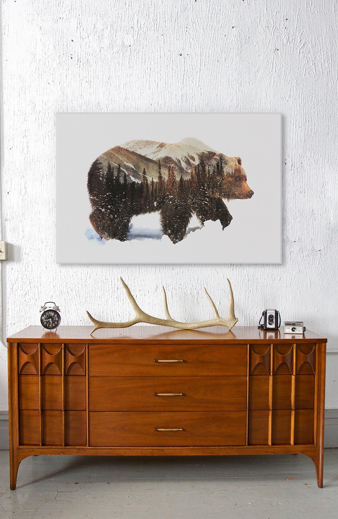 'Arctic Grizzly Bear' Fine Art Print,                             Alternate thumbnail 3, color,                             200