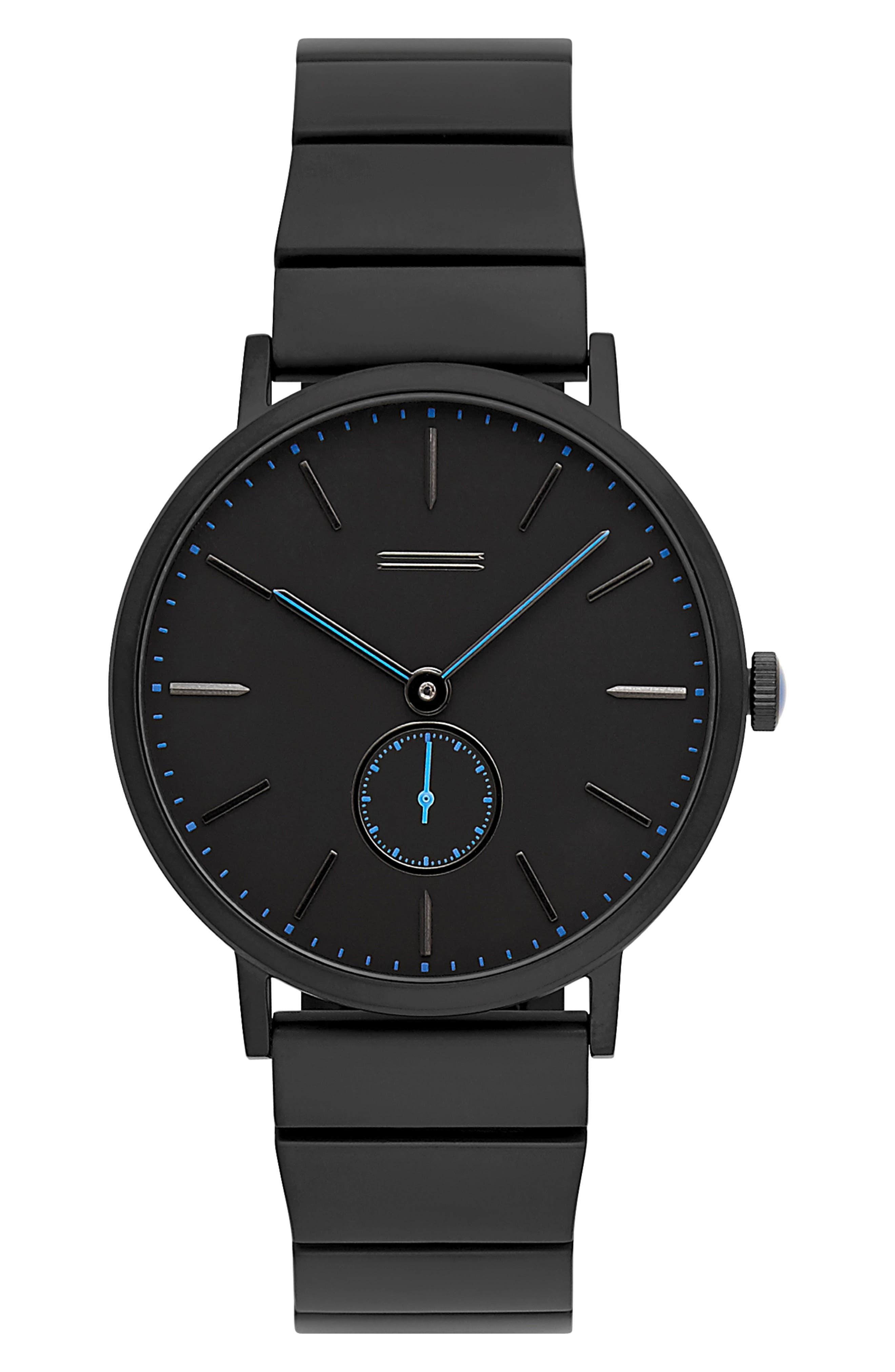 Norrebro Bracelet Watch, 40mm,                             Main thumbnail 1, color,                             BLACK
