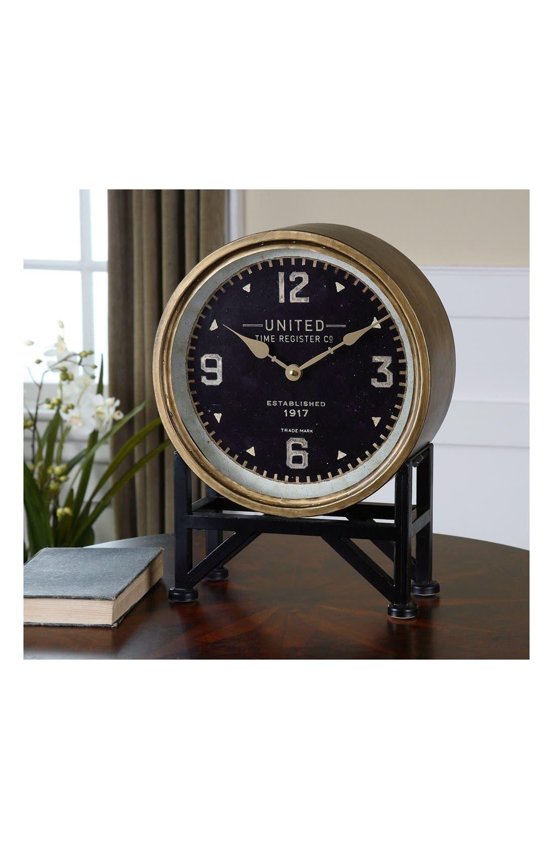 'Shyam' Table Clock,                             Alternate thumbnail 4, color,