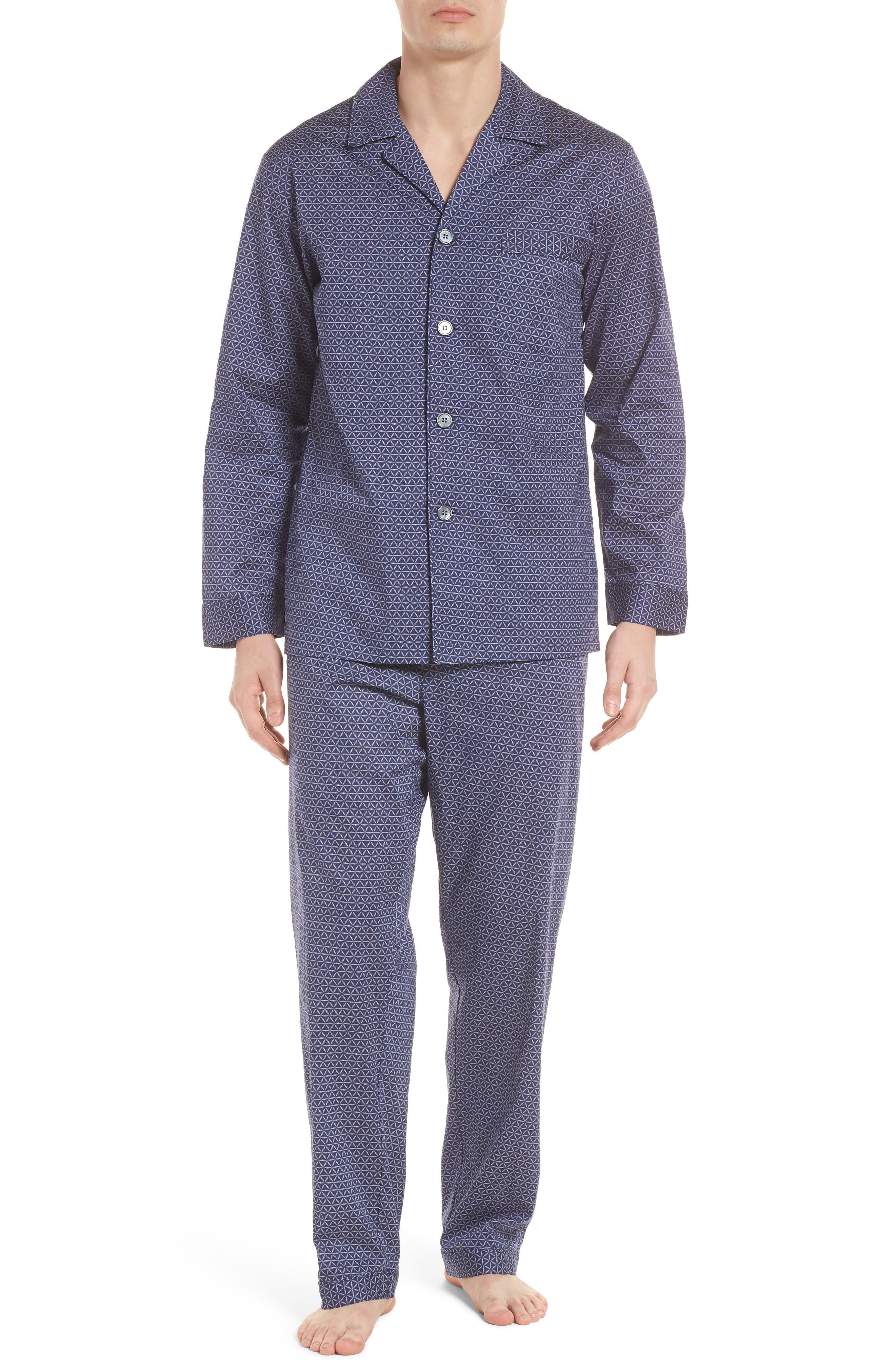 Starling Pajama Set,                         Main,                         color, NAVY