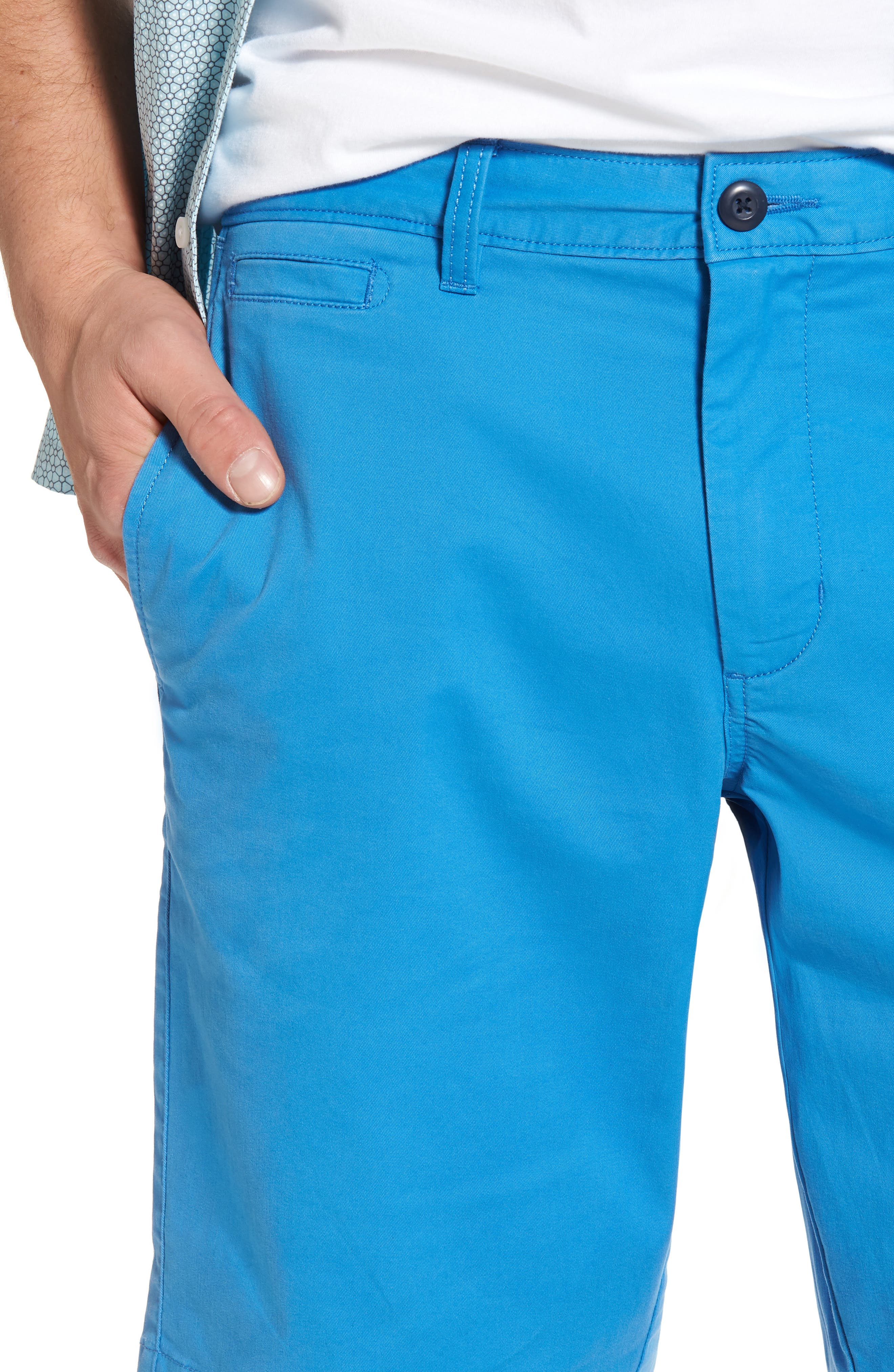 Ballard Slim Fit Stretch Chino 11-Inch Shorts,                             Alternate thumbnail 60, color,