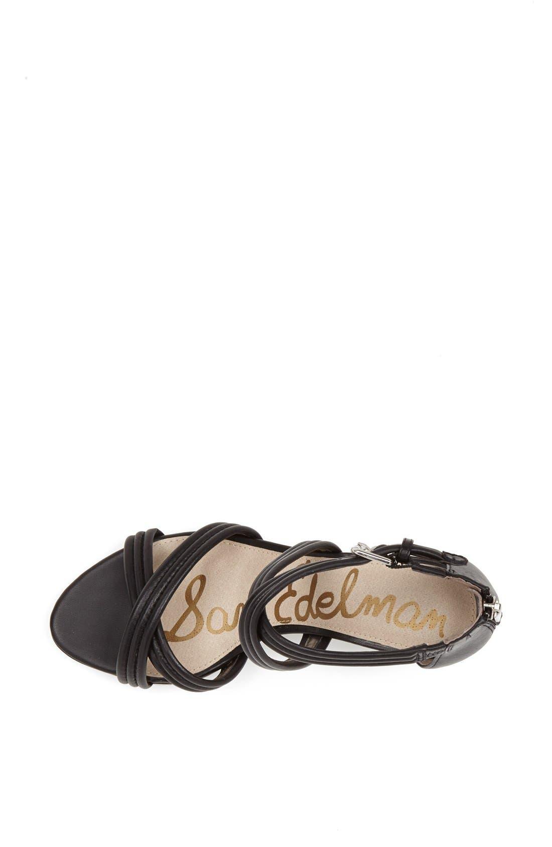 'Sloan' Sandal,                             Alternate thumbnail 4, color,                             001