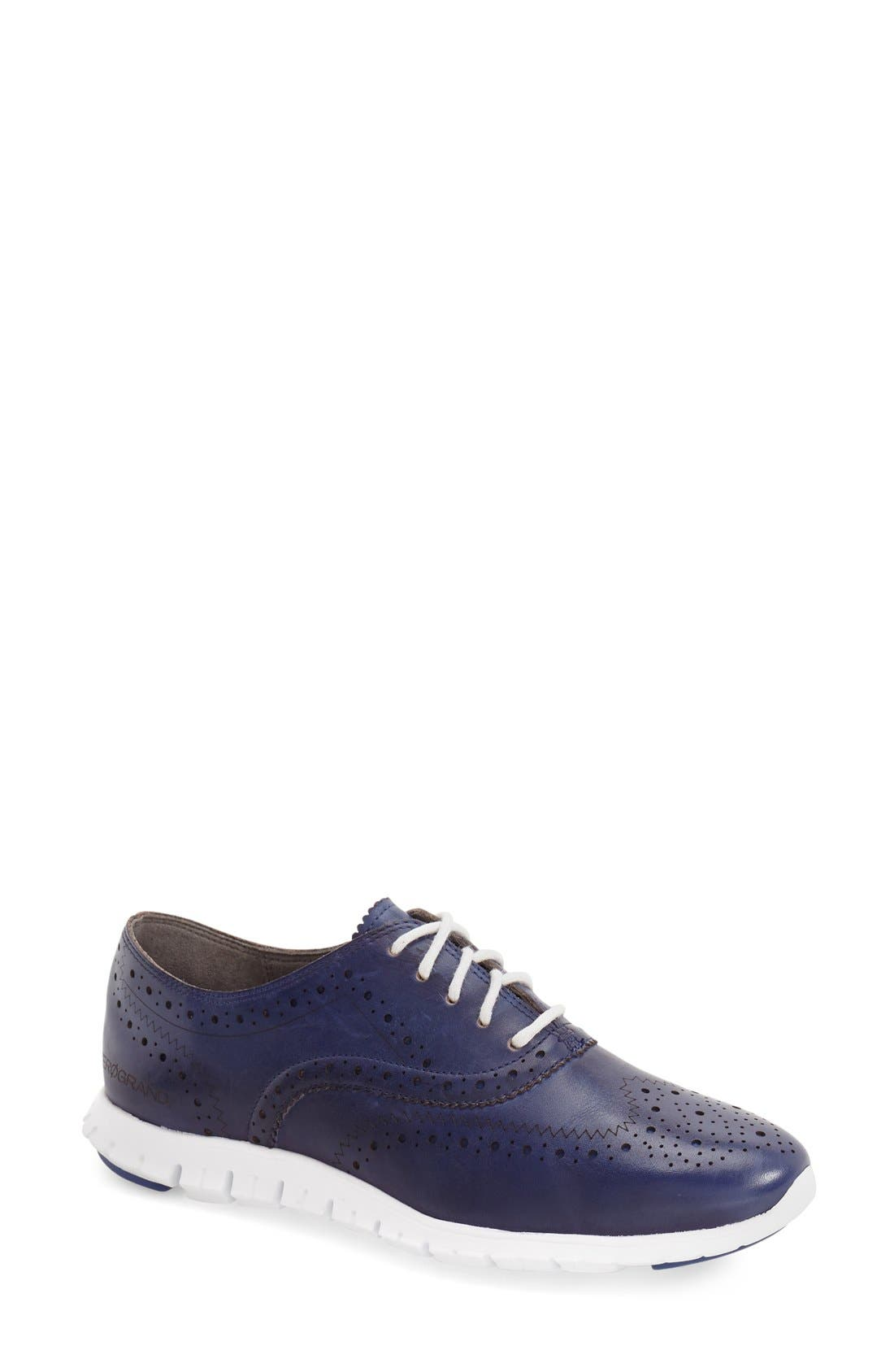 'ZeroGrand' Perforated Wingtip,                             Main thumbnail 20, color,