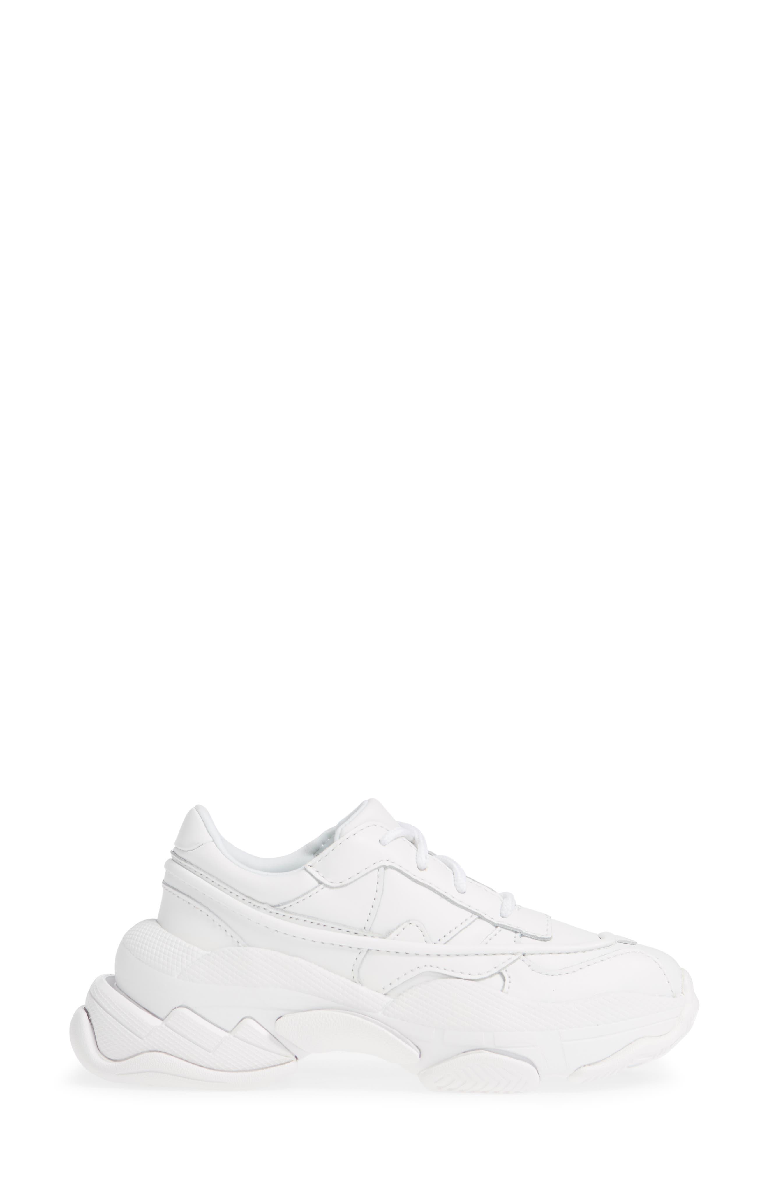 Malware Wedge Sneaker,                             Alternate thumbnail 3, color,                             WHITE