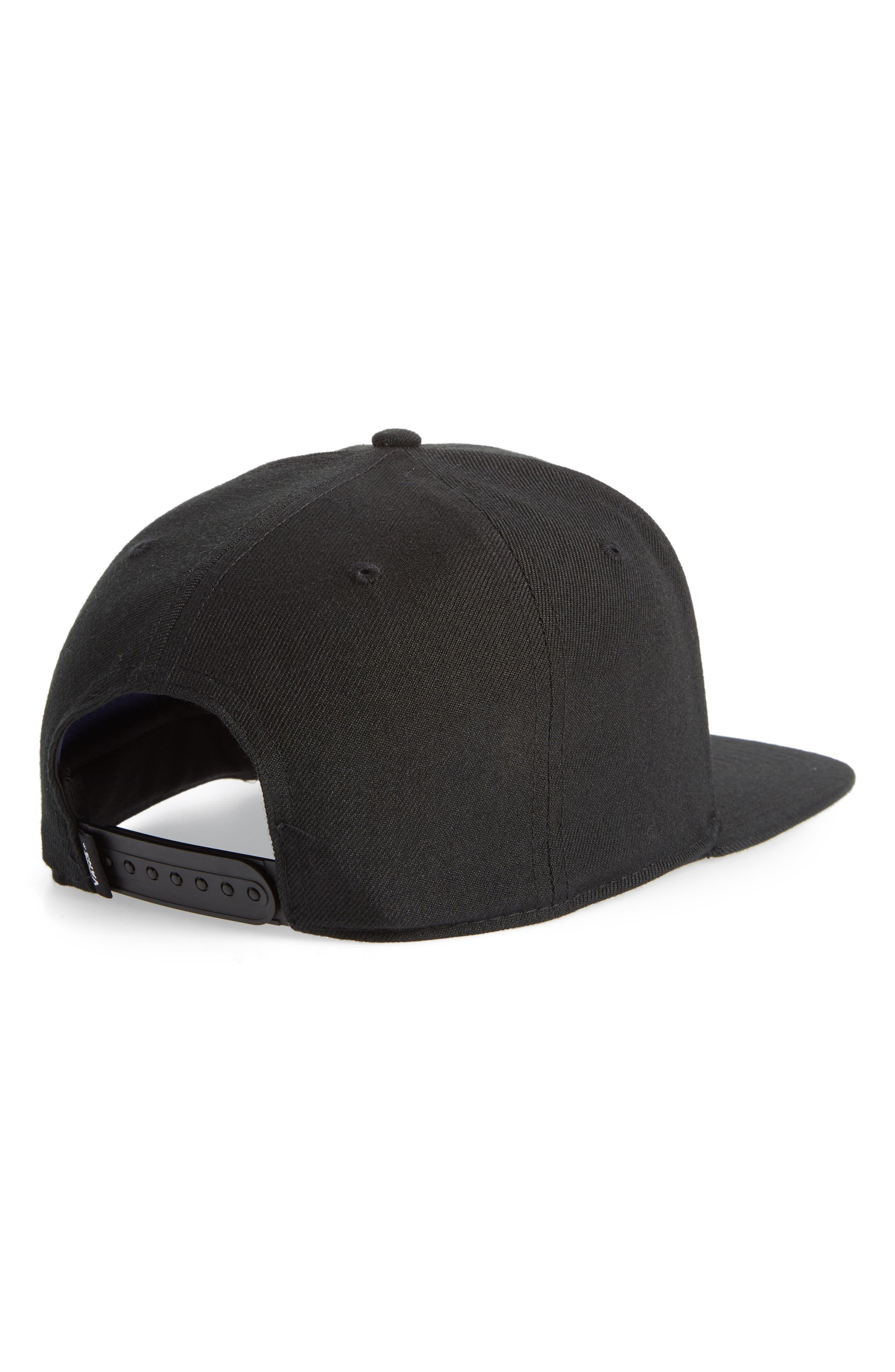 Westgate Snapback Baseball Cap,                             Alternate thumbnail 2, color,                             BLACK