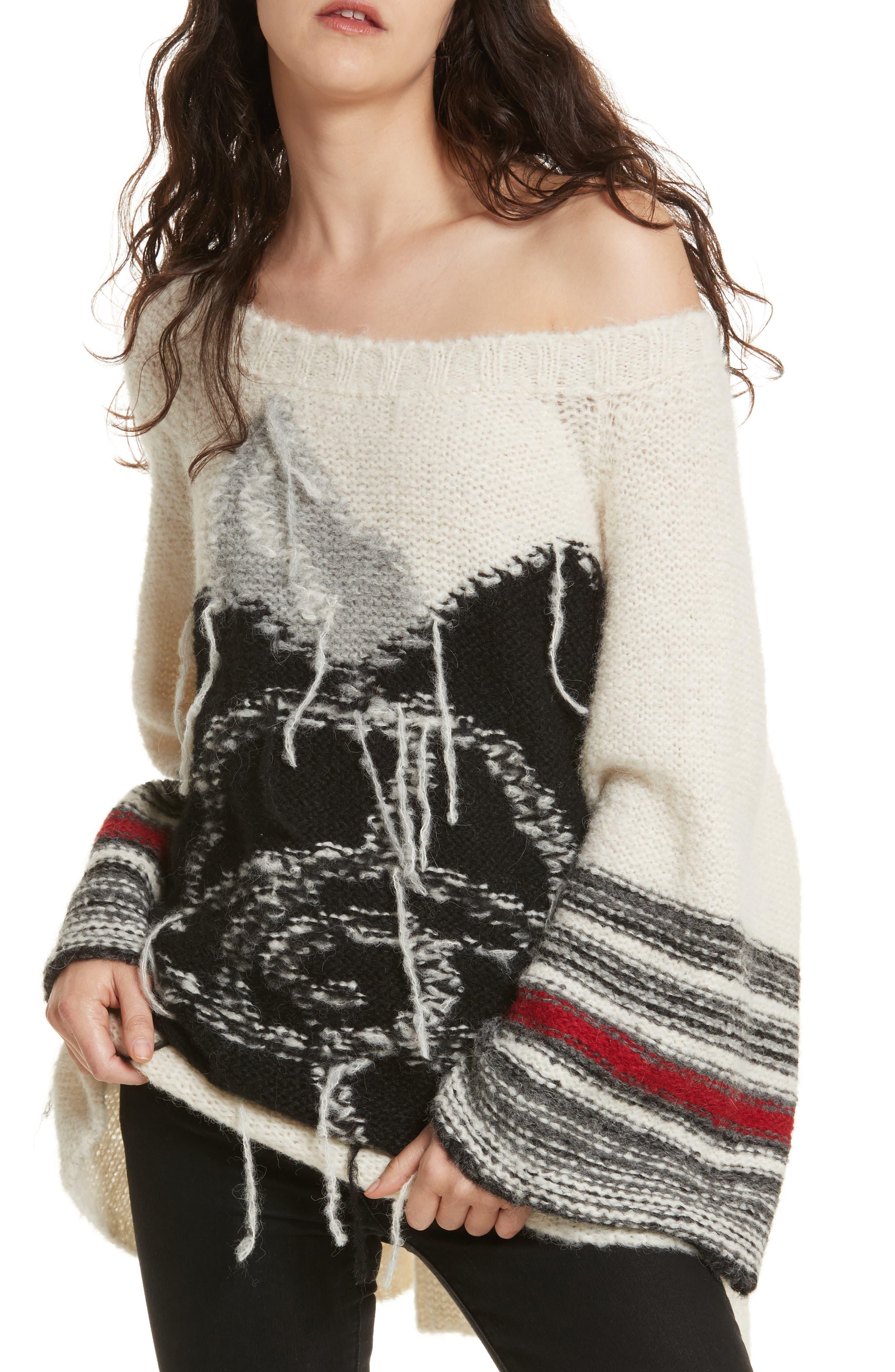 Last Rose Sweater,                             Main thumbnail 2, color,