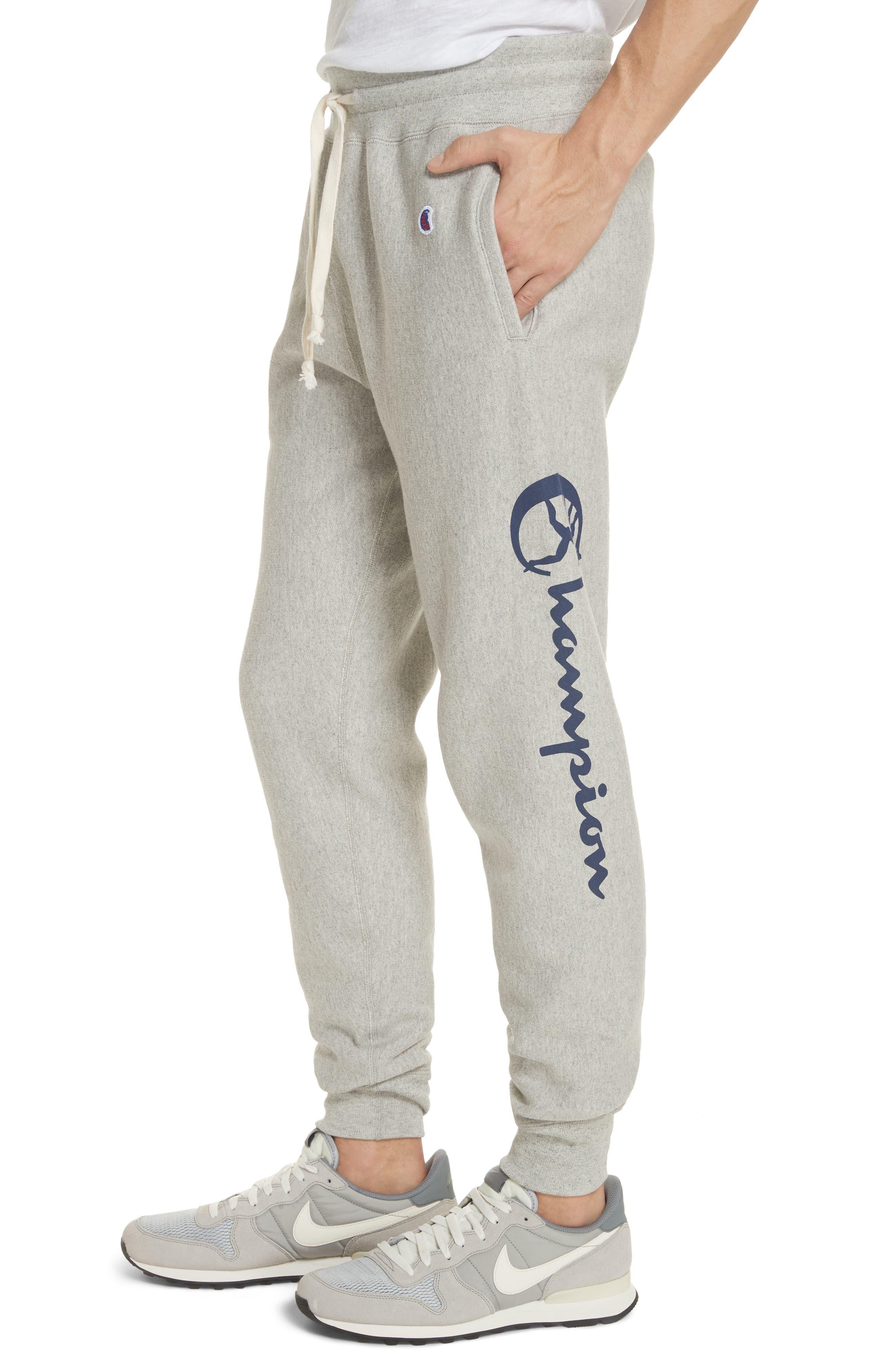 + Champion Sweatpants,                             Alternate thumbnail 4, color,                             069