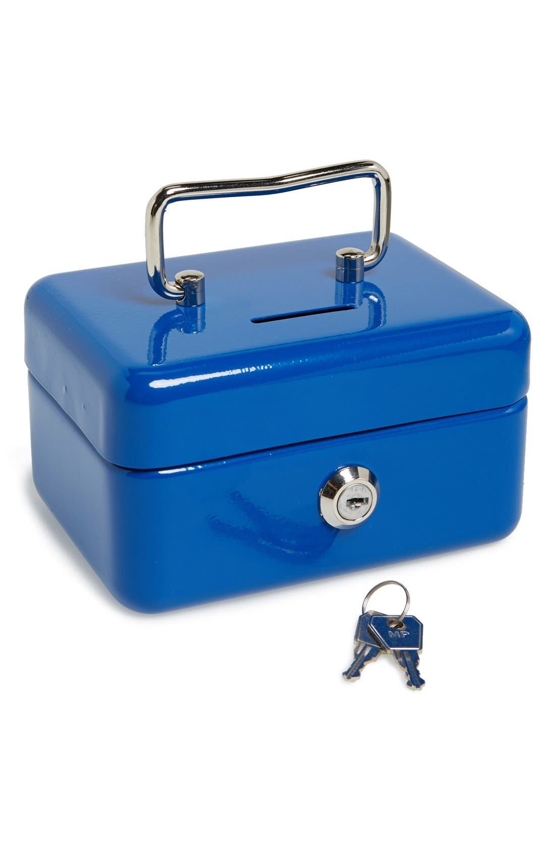 Powder Coated Steel Cash Box, Main, color, 400