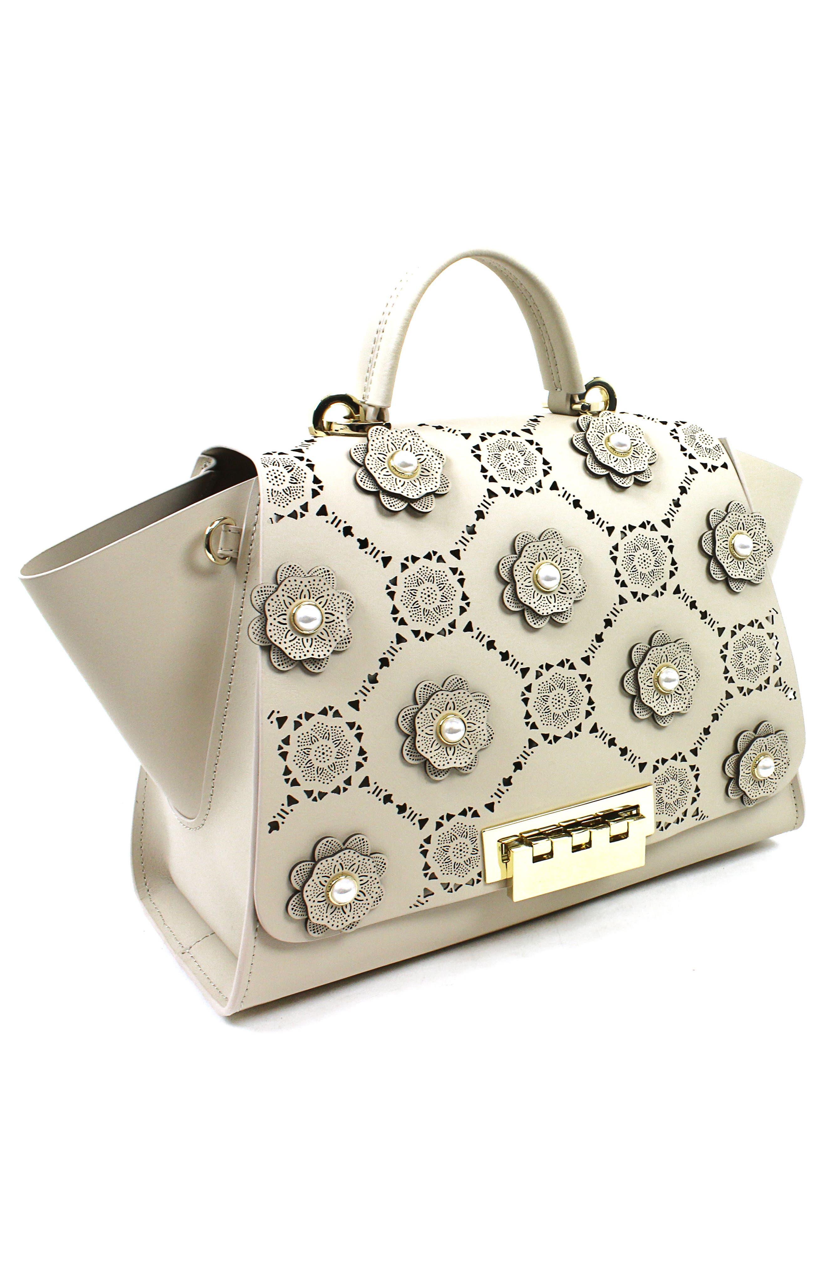 Eartha Iconic Soft Top Handle Handbag,                             Alternate thumbnail 3, color,                             250