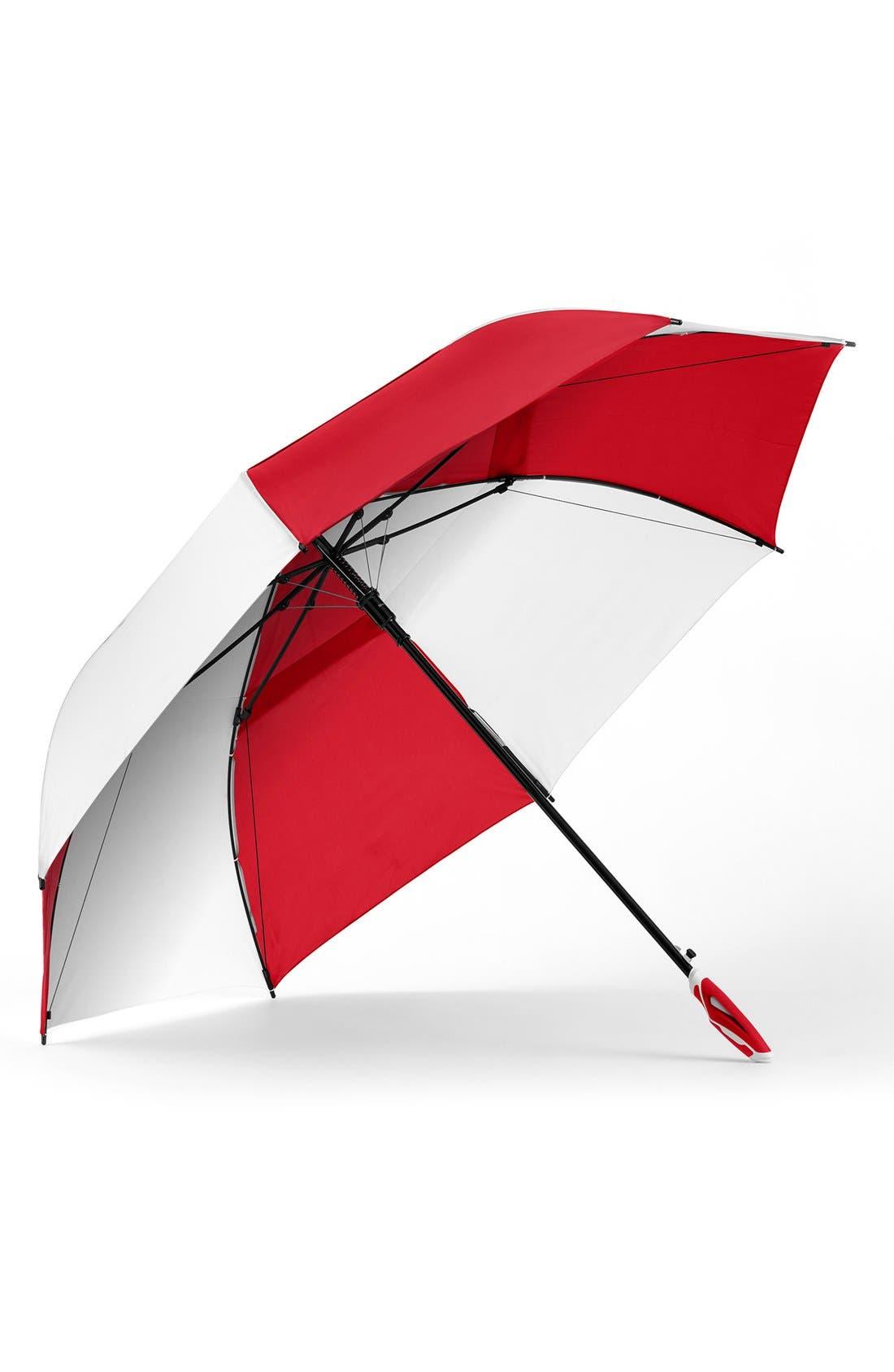 SHEDRAIN,                             'WindJammer<sup>®</sup>' Auto Open Golf Umbrella,                             Main thumbnail 1, color,                             621