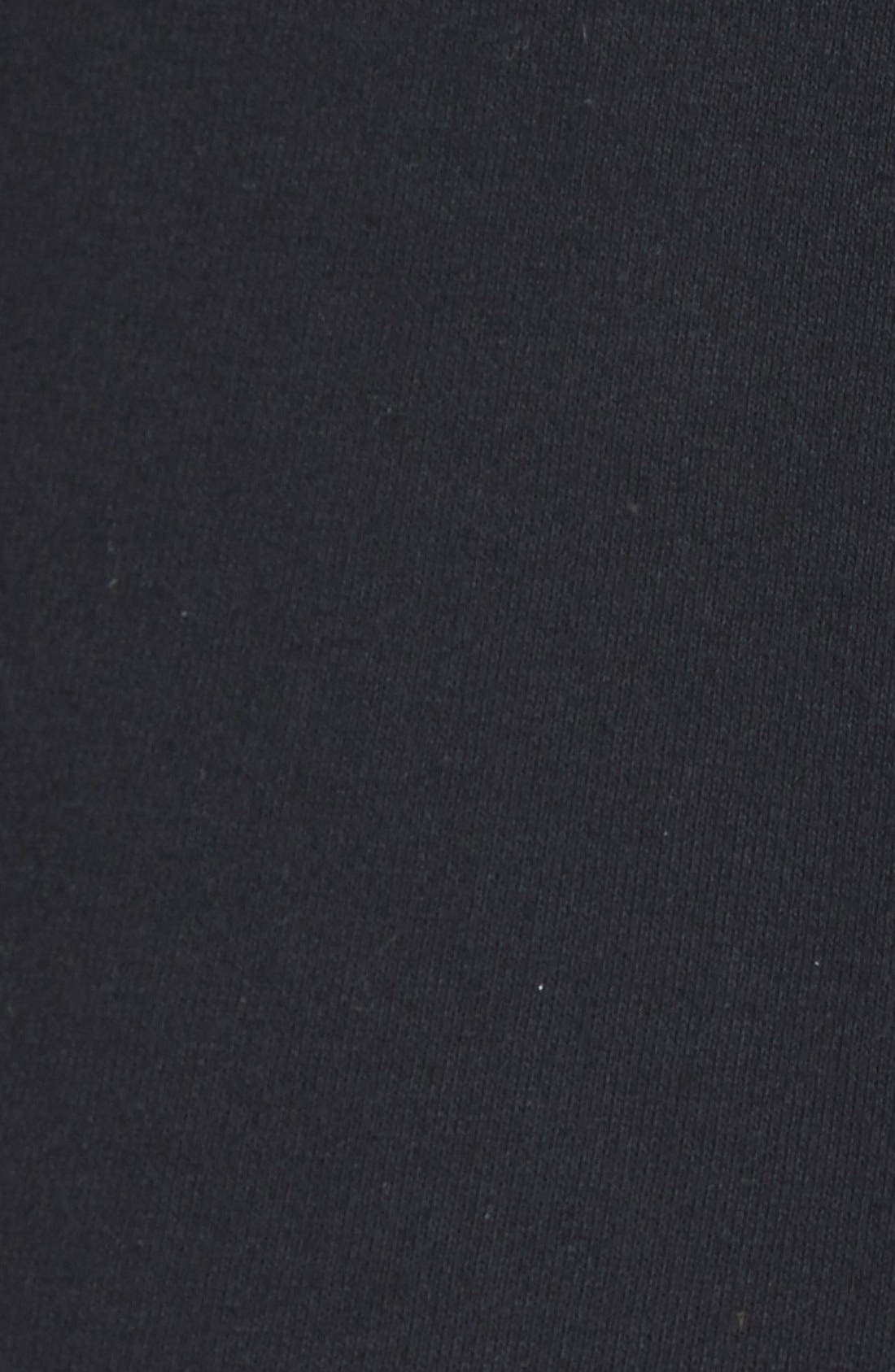 Oversize Funnel Neck Sweatshirt,                             Alternate thumbnail 2, color,                             001