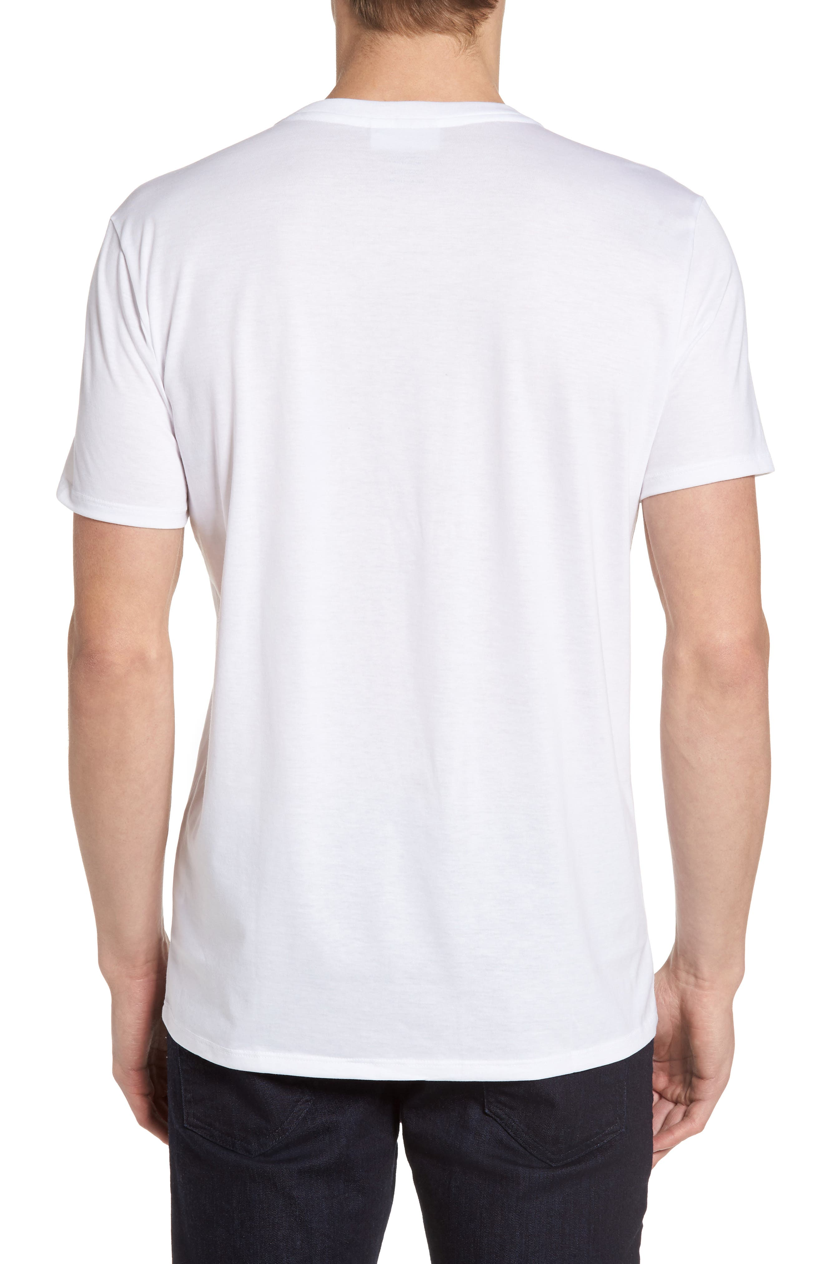 V-Neck T-Shirt,                             Alternate thumbnail 10, color,