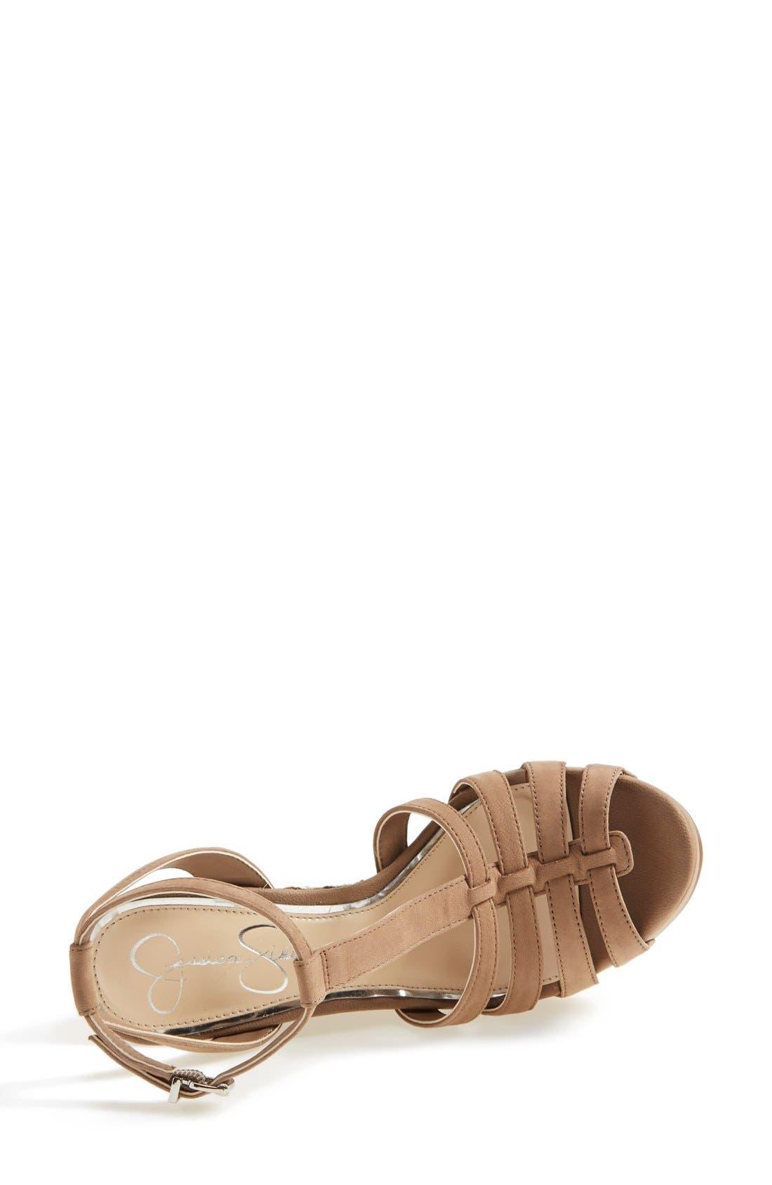 'Bristol' Ankle Strap Platform Wedge Sandal,                             Alternate thumbnail 2, color,                             250
