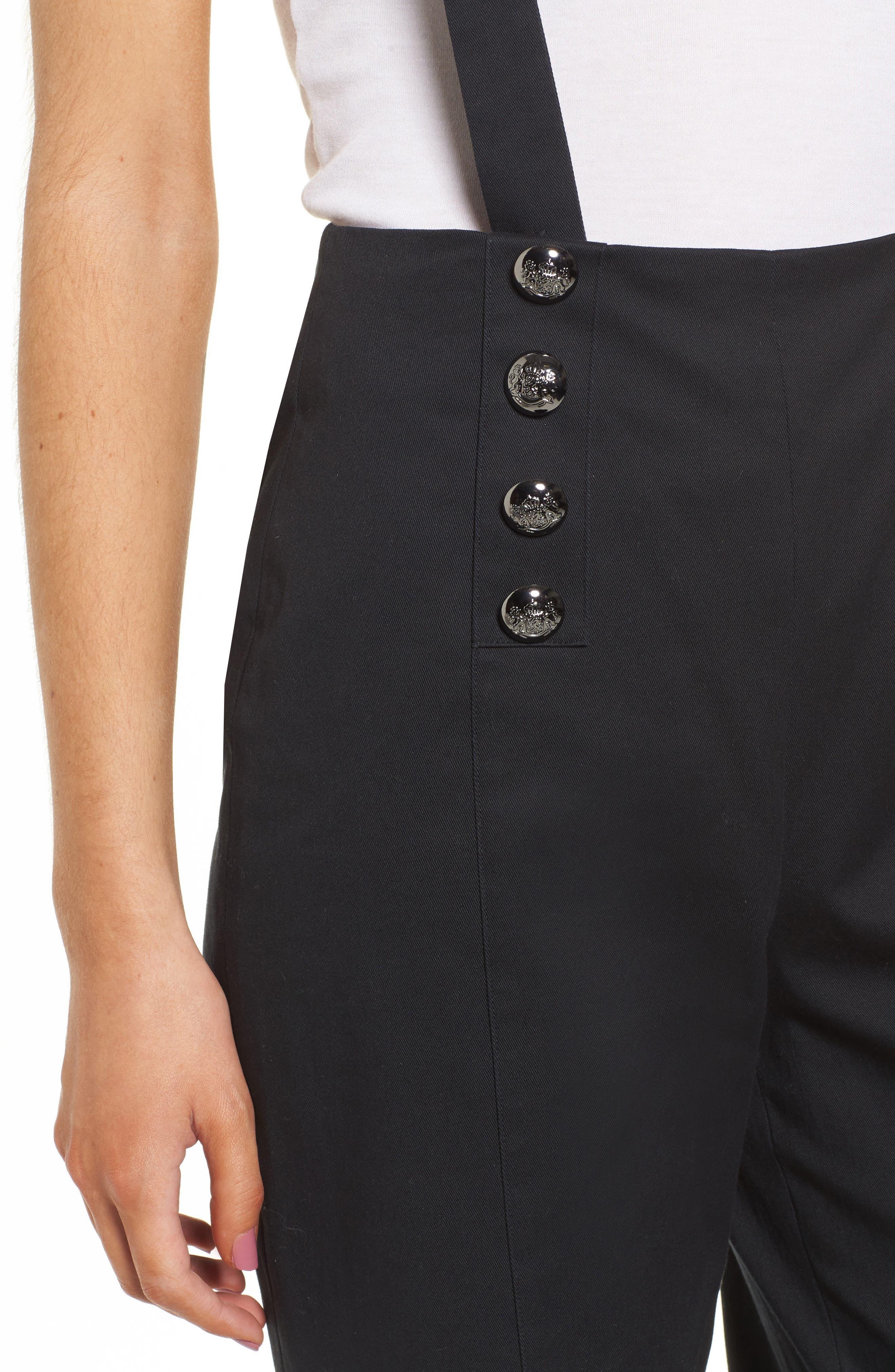 Avery Wide Leg Pants,                             Alternate thumbnail 4, color,                             001