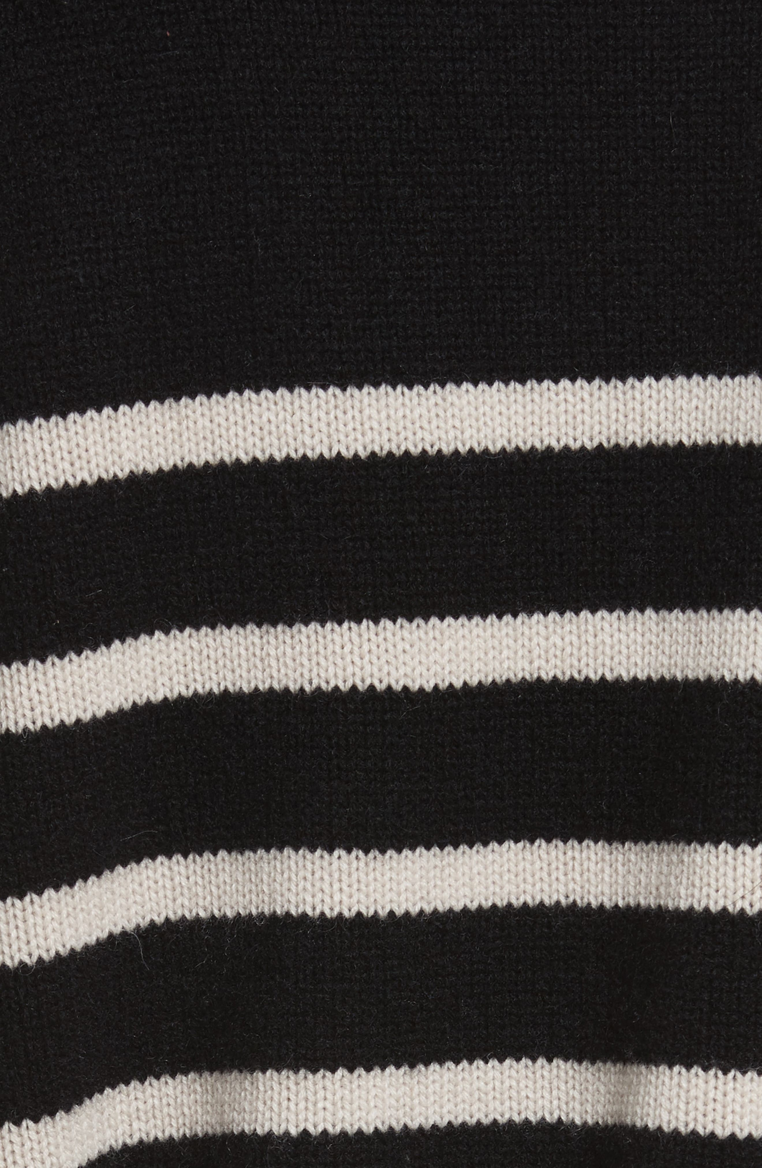 Cashmere Stripe Boxy Crew Sweater,                             Alternate thumbnail 5, color,                             006